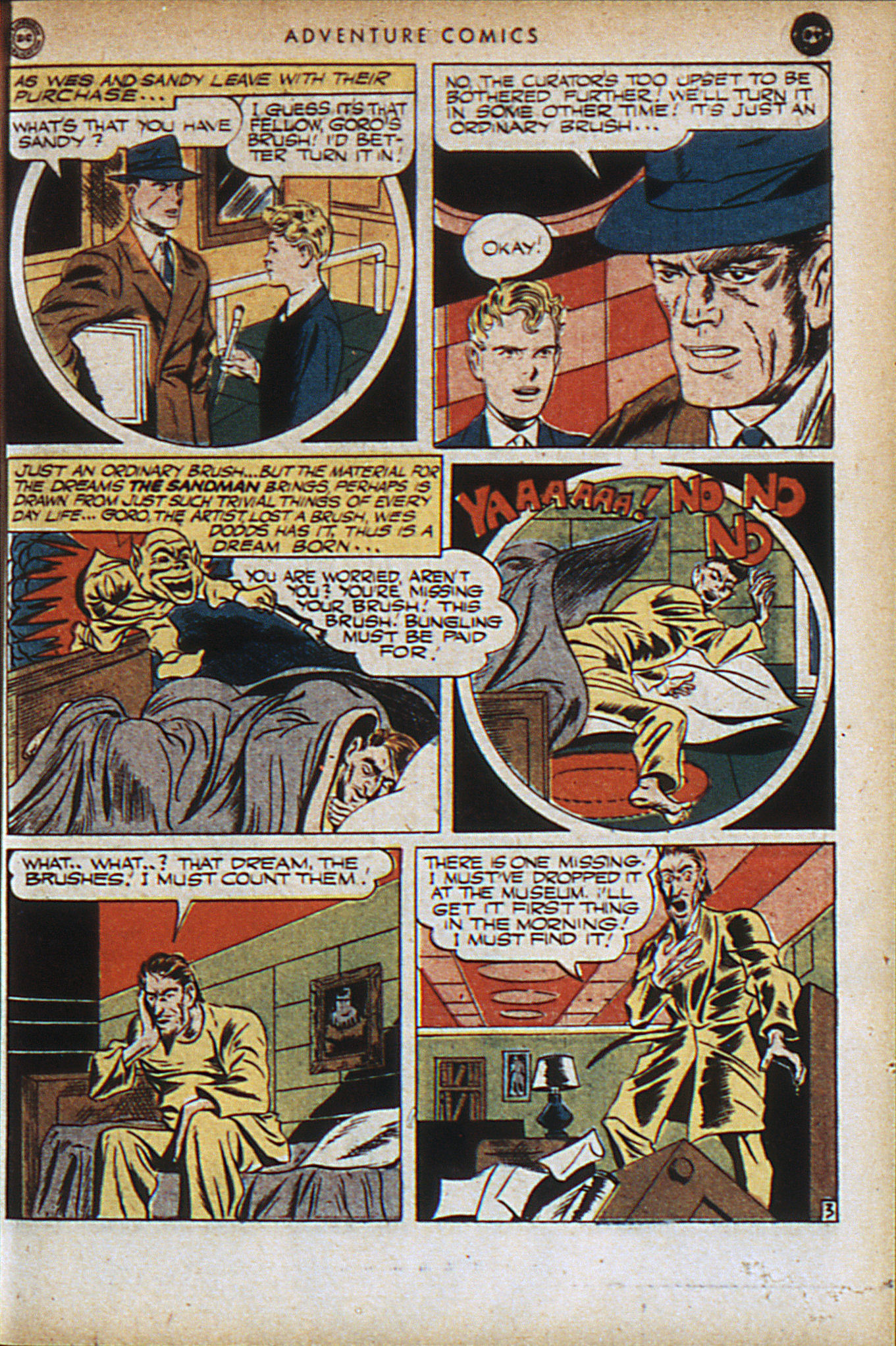 Read online Adventure Comics (1938) comic -  Issue #95 - 6