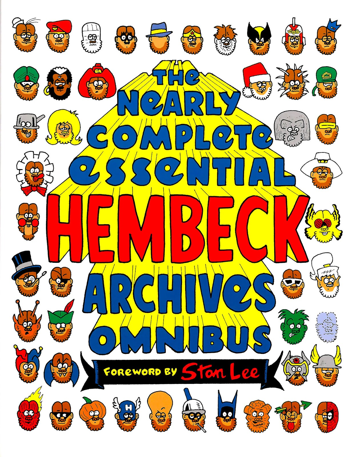 Read online The Nearly Complete Essential Hembeck Archives Omnibus comic -  Issue # TPB (Part 1) - 1