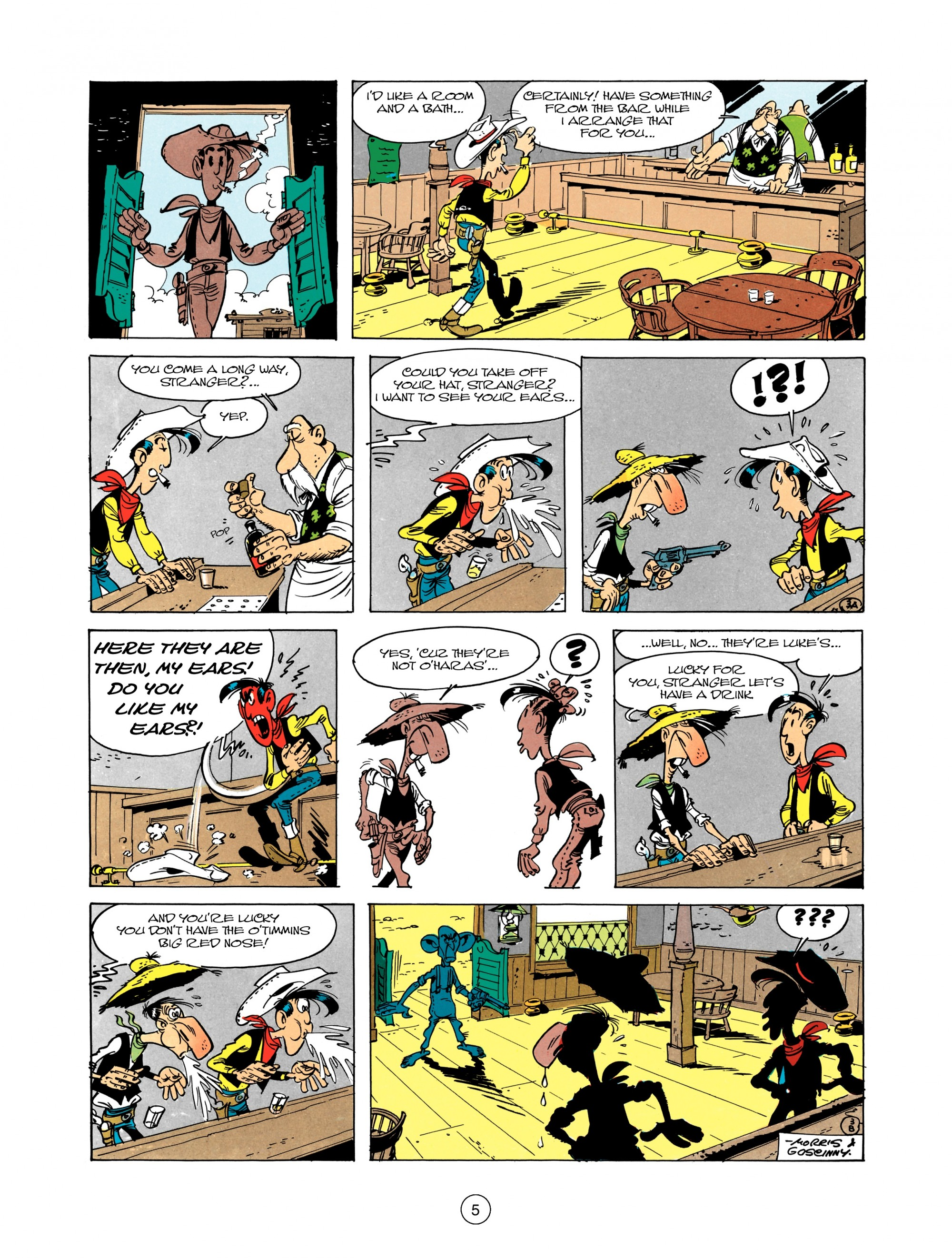 Read online A Lucky Luke Adventure comic -  Issue #12 - 5