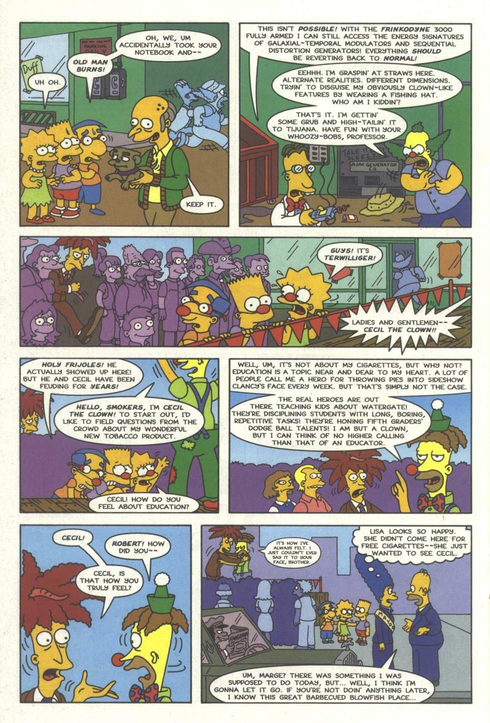 Read online Simpsons Comics comic -  Issue #33 - 21