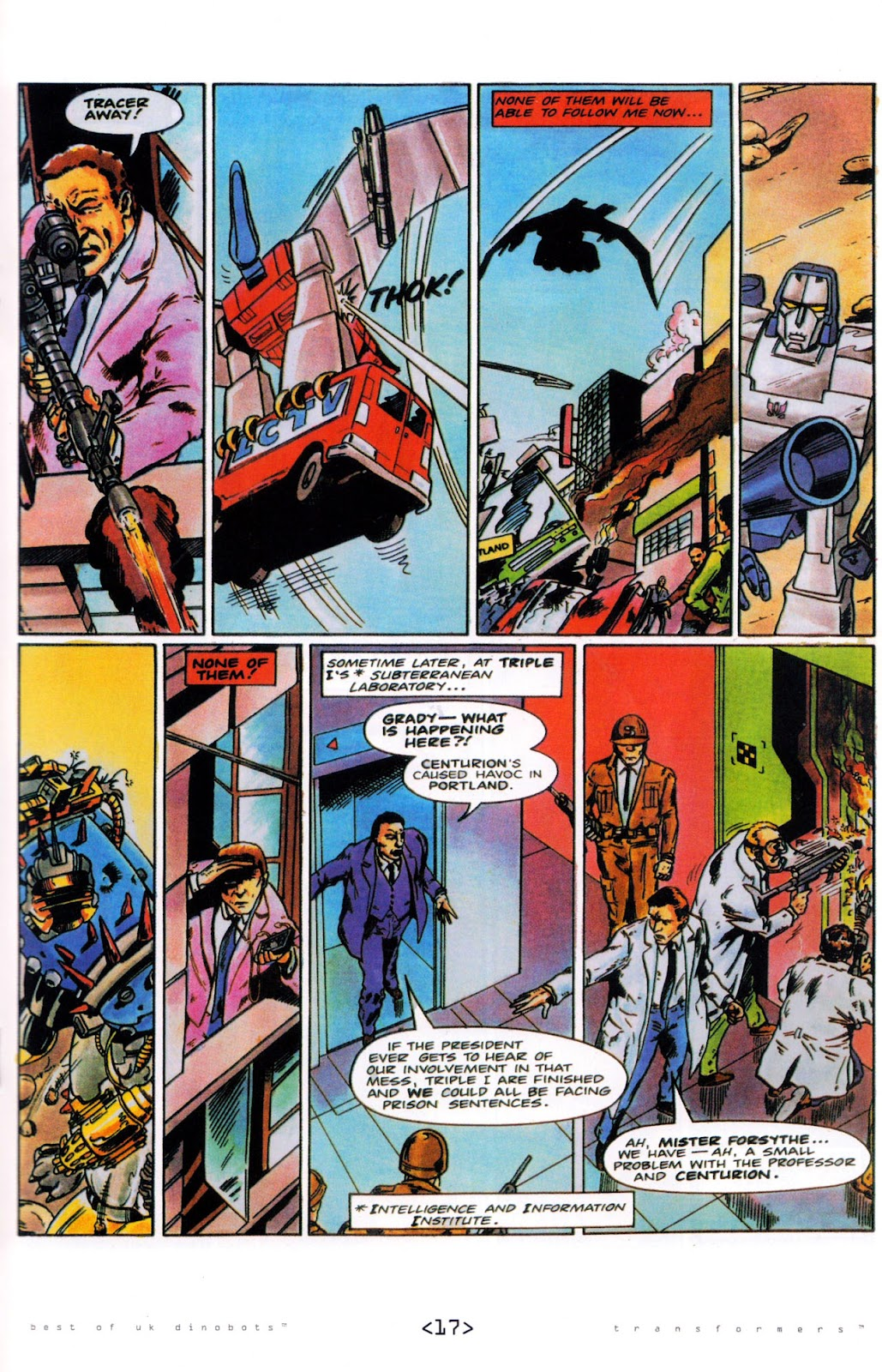 Read online The Transformers: Best of UK: Dinobots comic -  Issue #5 - 19