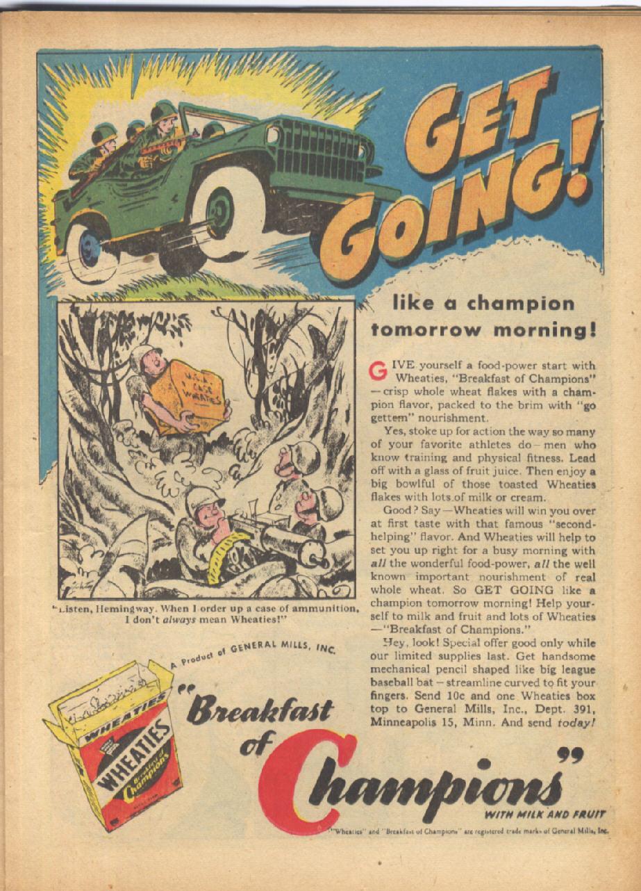 Read online Sensation (Mystery) Comics comic -  Issue #24 - 31
