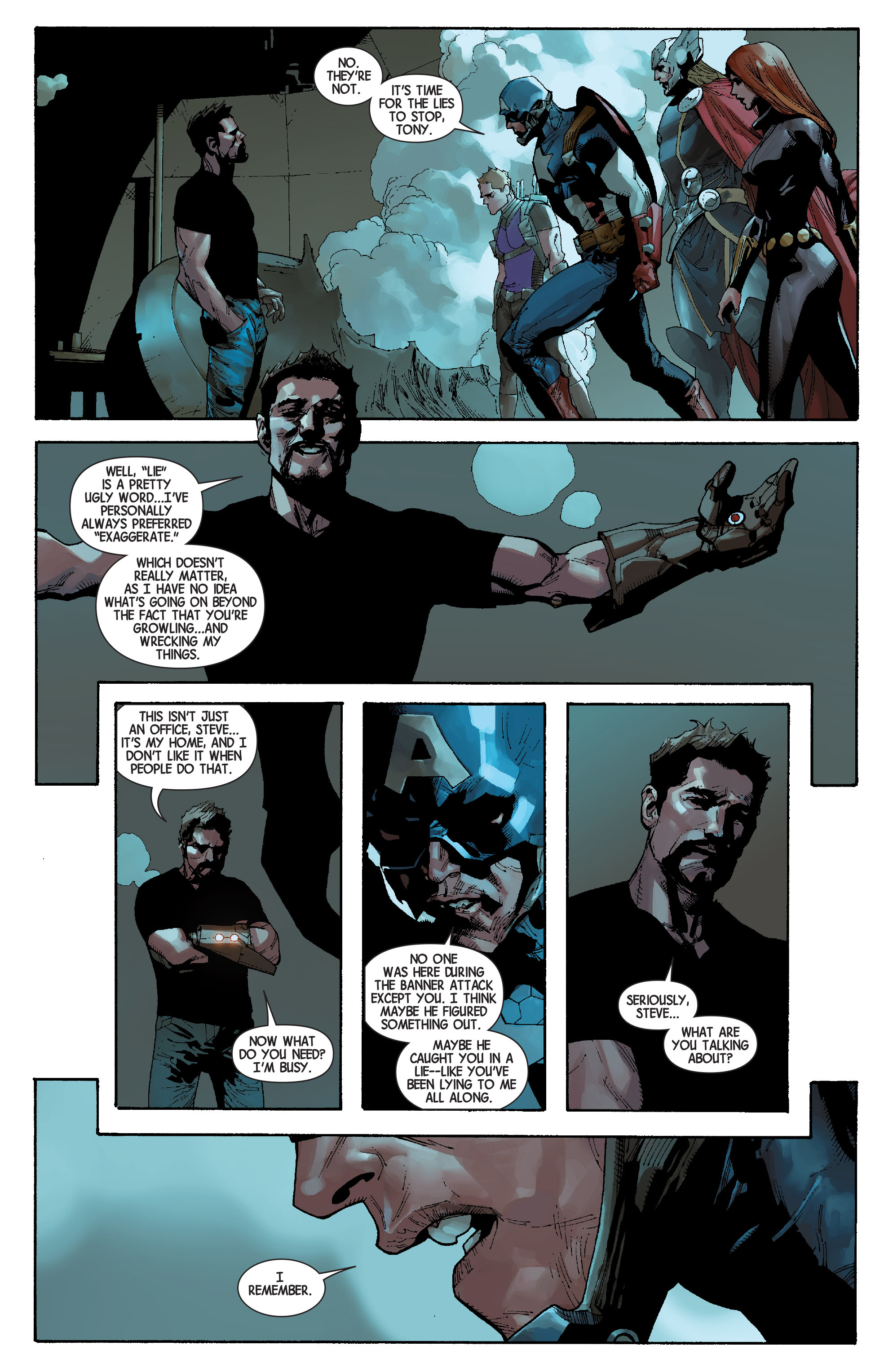 Read online Avengers (2013) comic -  Issue #Avengers (2013) _TPB 6 - 20