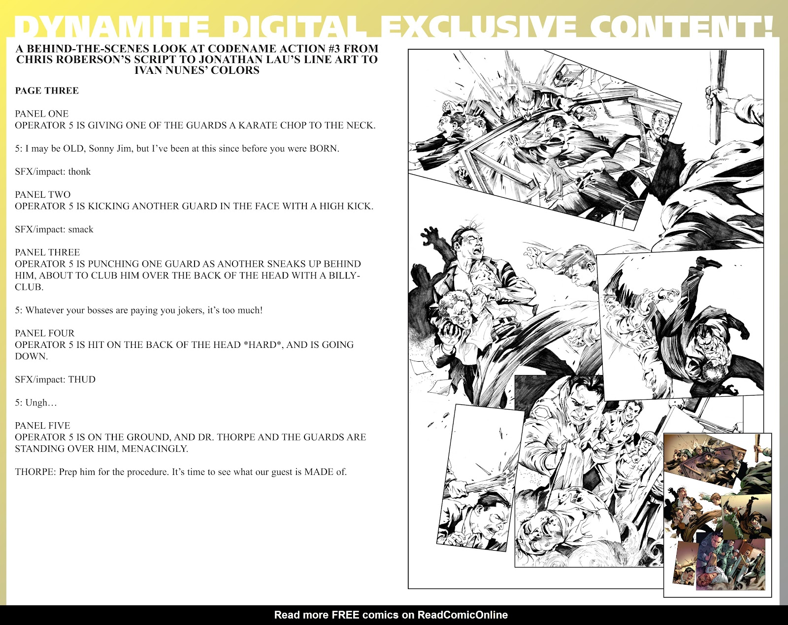 Read online Codename: Action comic -  Issue #3 - 37