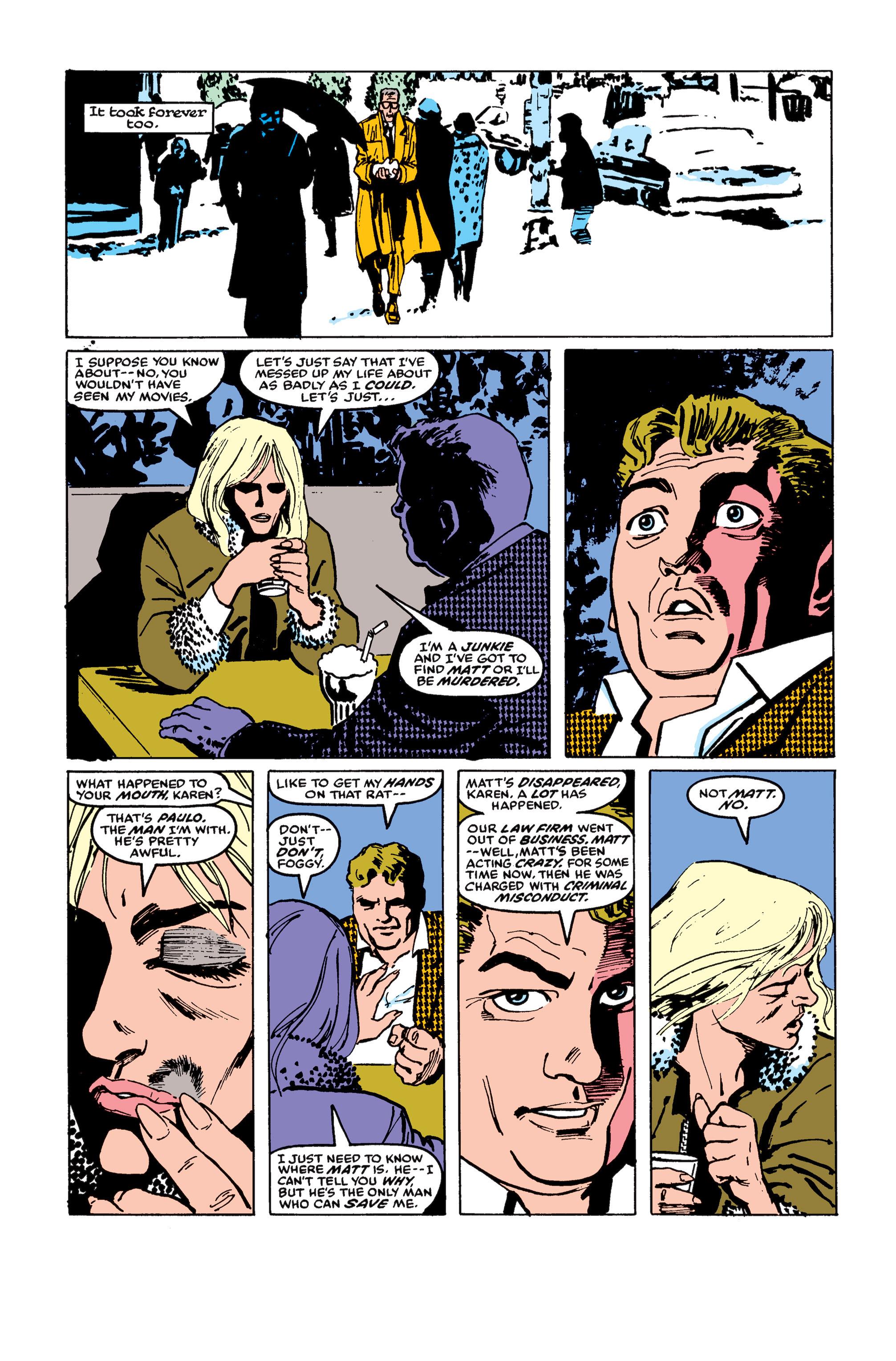 Read online Daredevil: Born Again comic -  Issue # Full - 117