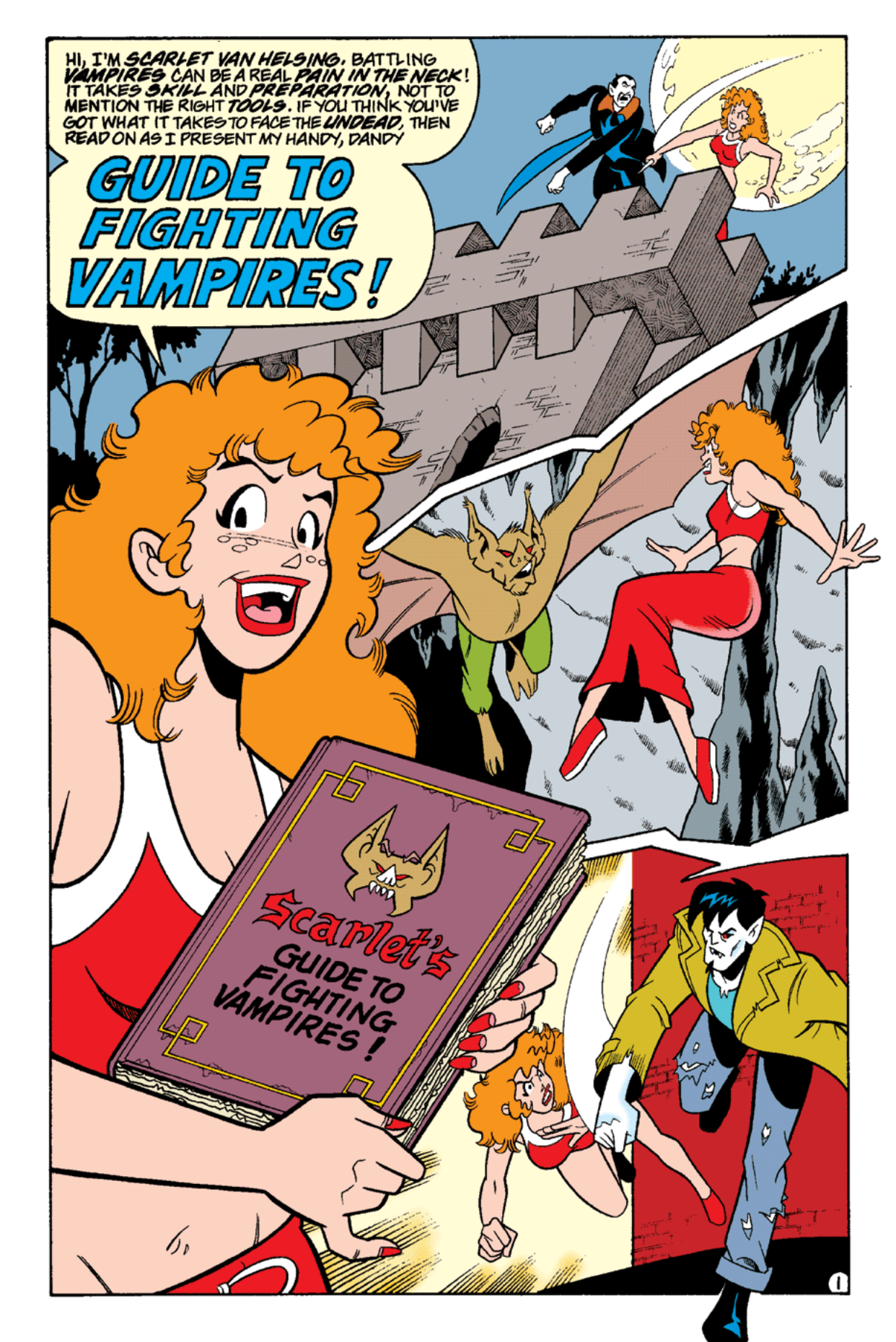 Read online Archie's Weird Mysteries comic -  Issue #15 - 19