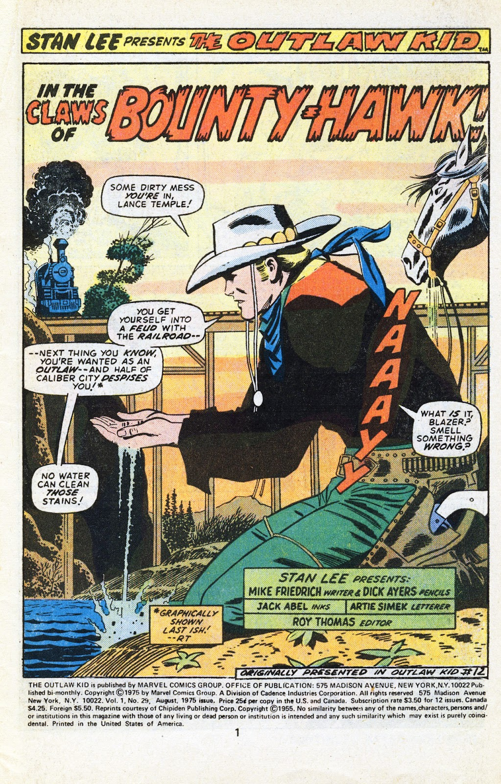 The Outlaw Kid (1970) issue 29 - Page 3