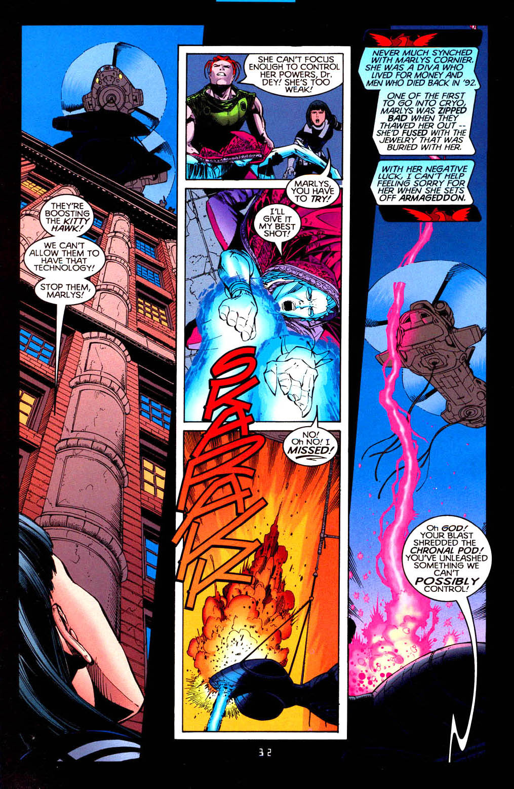 Read online Tangent Comics/ Doom Patrol comic -  Issue # Full - 33