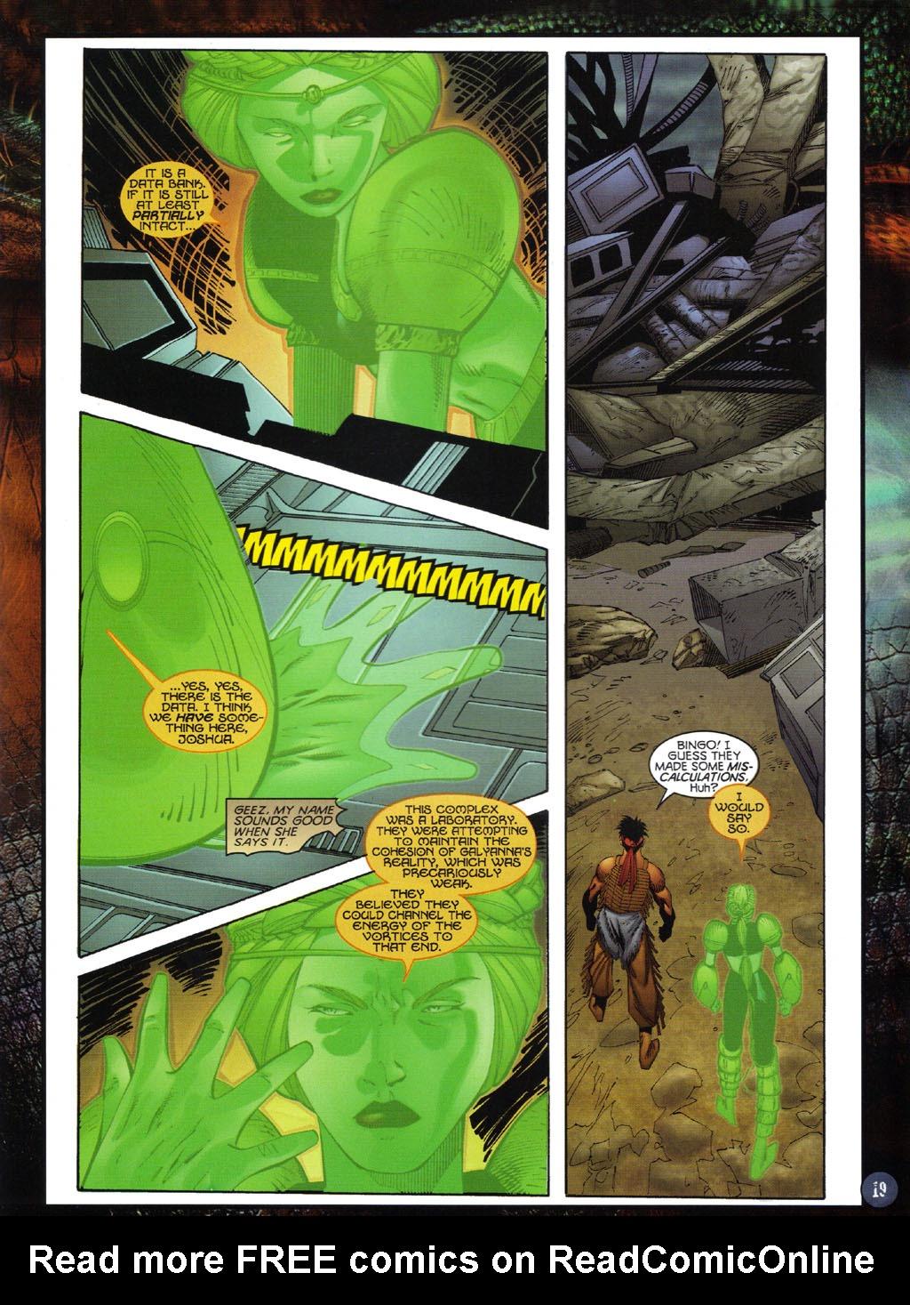 Read online Turok 2: Adon's Curse comic -  Issue # Full - 20