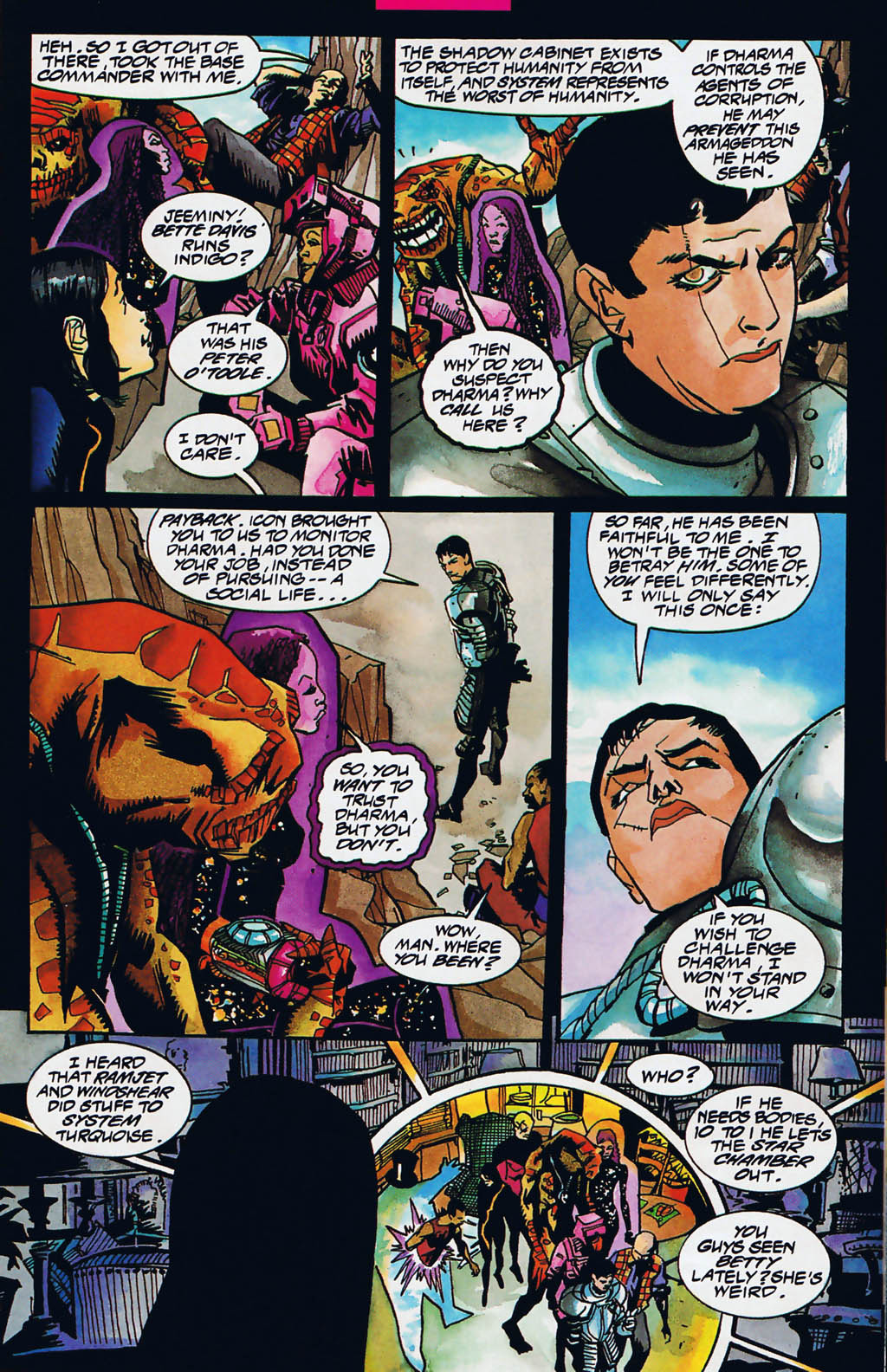 Read online Shadow Cabinet comic -  Issue #15 - 9