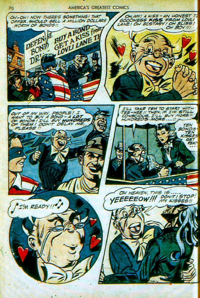 Read online America's Greatest Comics comic -  Issue #4 - 71