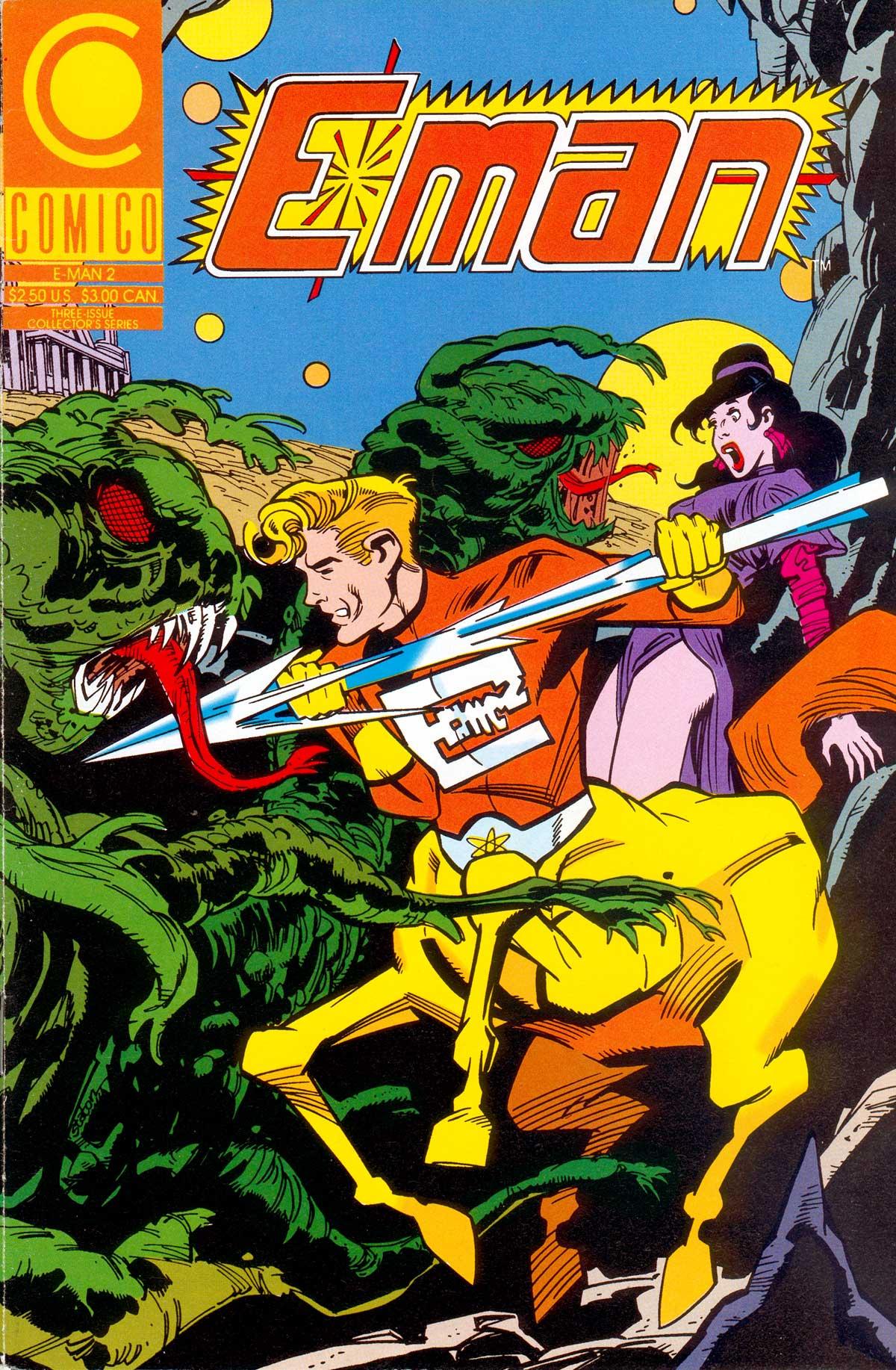 E-Man (1989) 2 Page 1