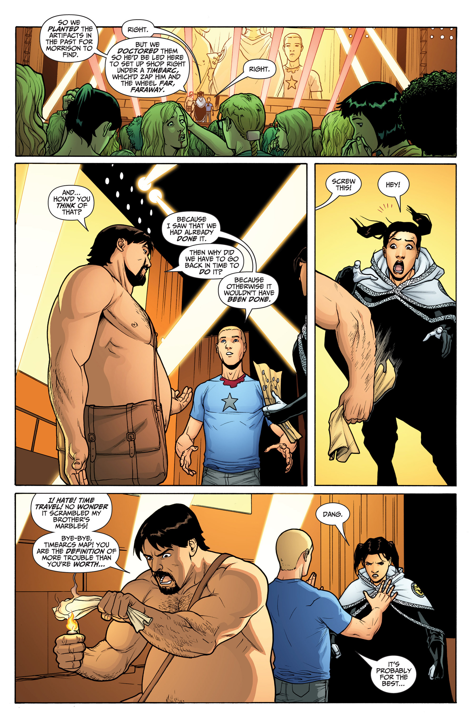 Read online Archer and Armstrong comic -  Issue #23 - 21