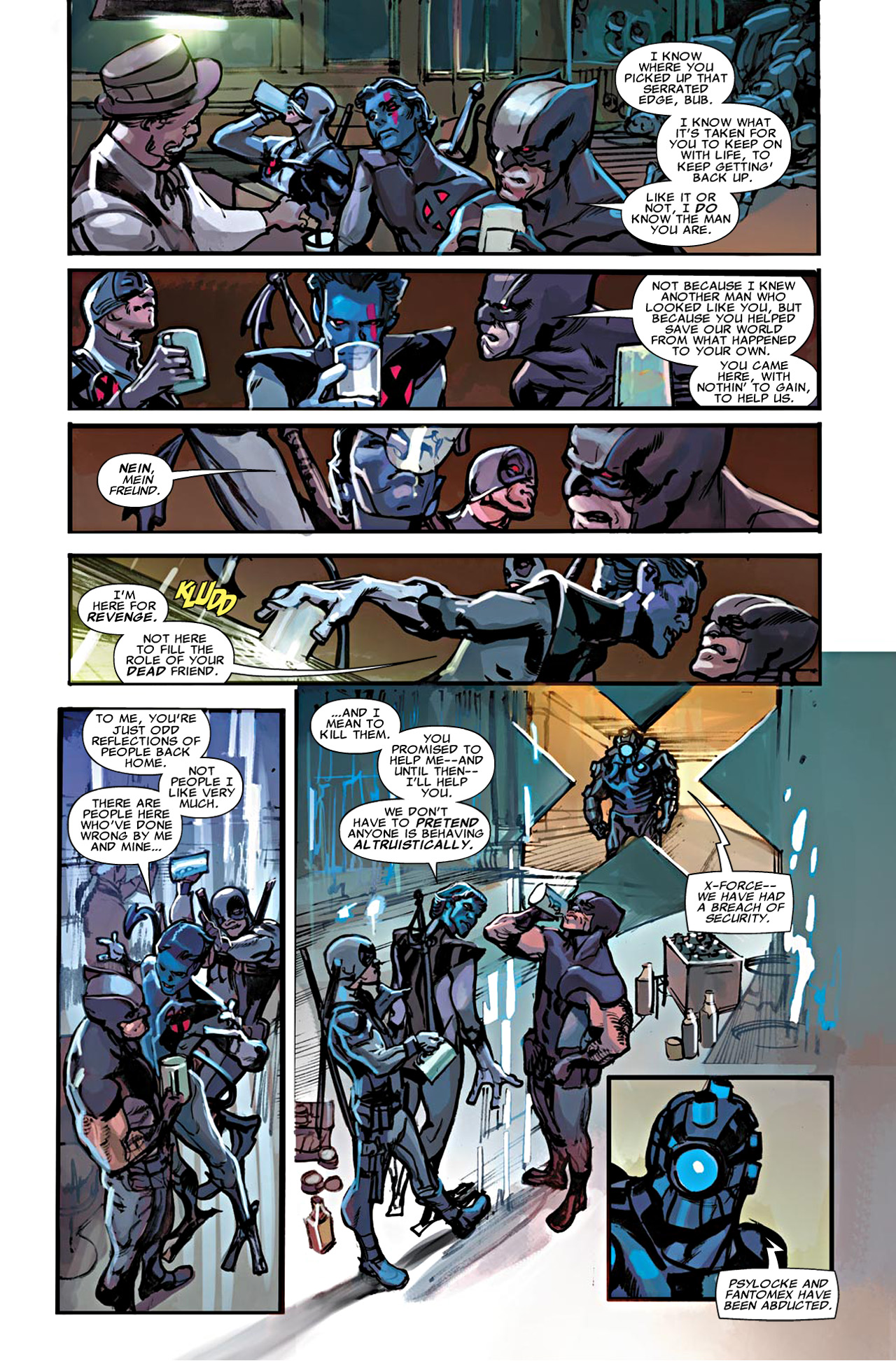 Read online Uncanny X-Force (2010) comic -  Issue #20 - 11