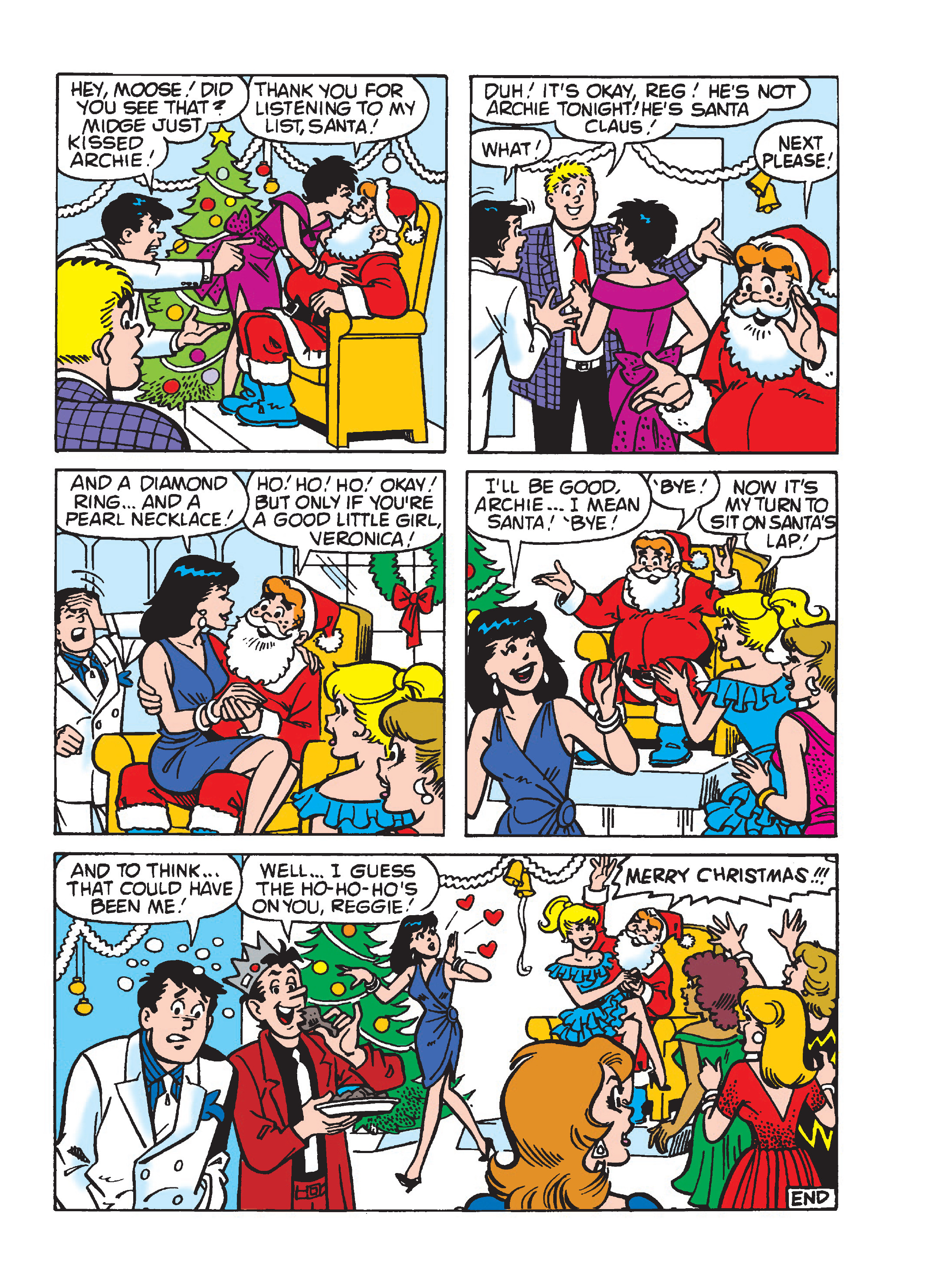 Read online Archie's Funhouse Double Digest comic -  Issue #23 - 156