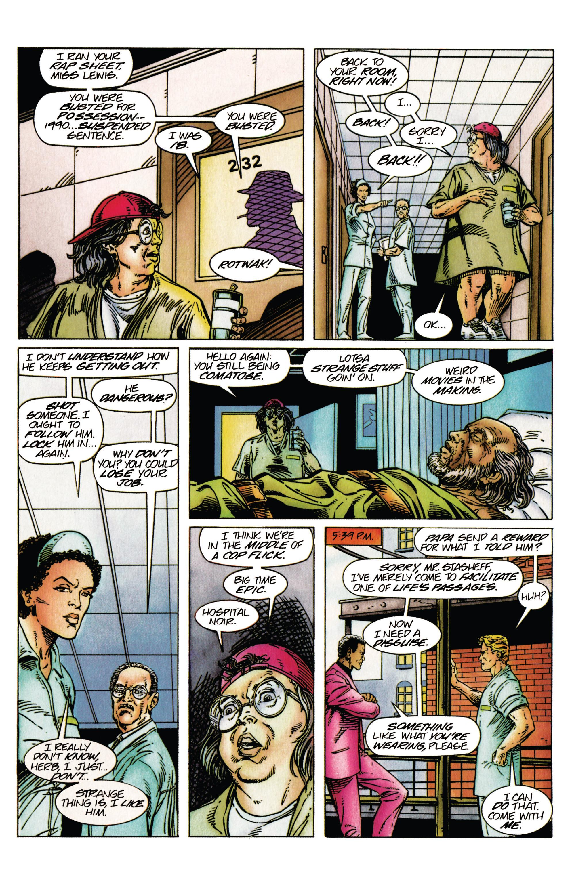 Read online Shadowman (1992) comic -  Issue #27 - 14