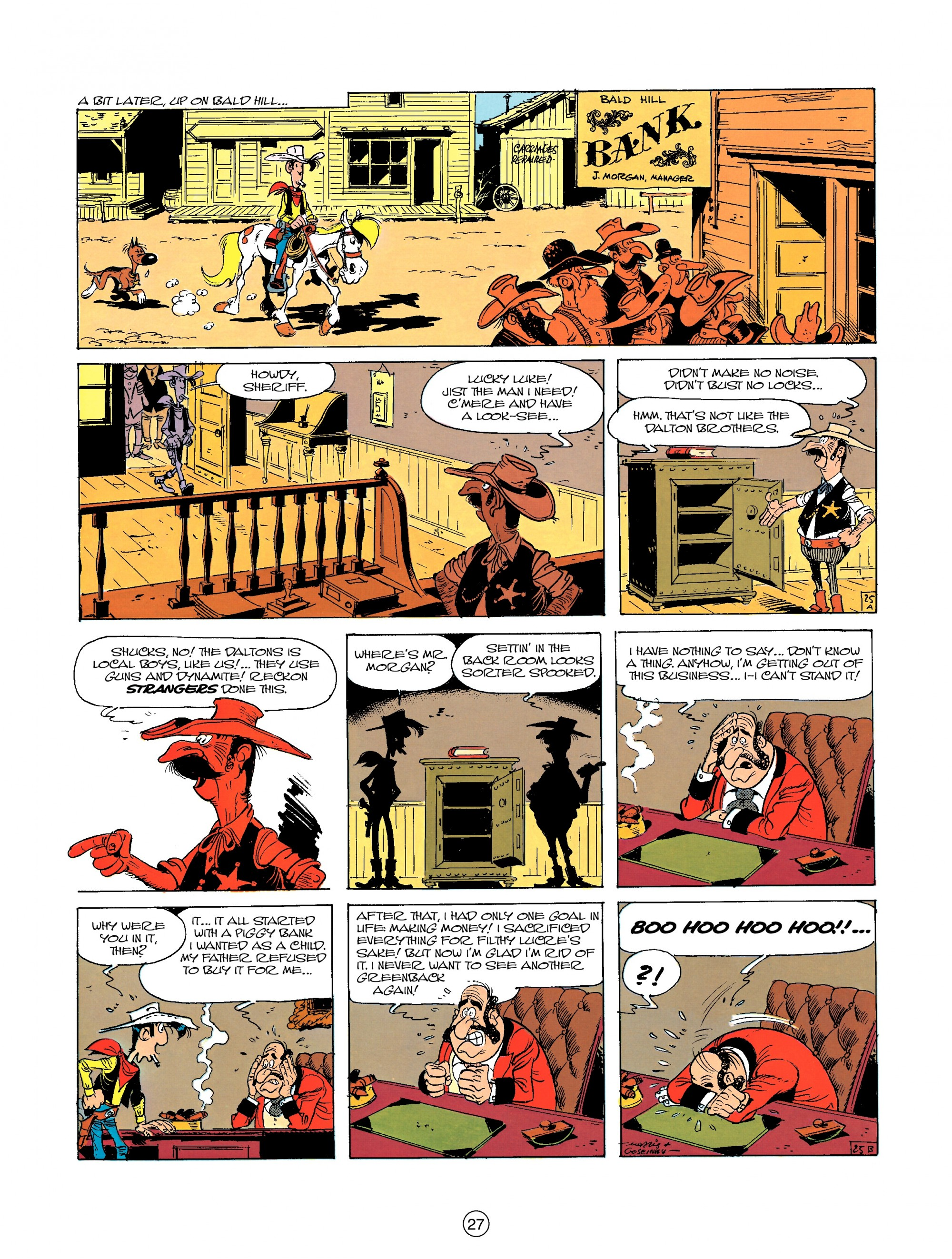 Read online A Lucky Luke Adventure comic -  Issue #23 - 27