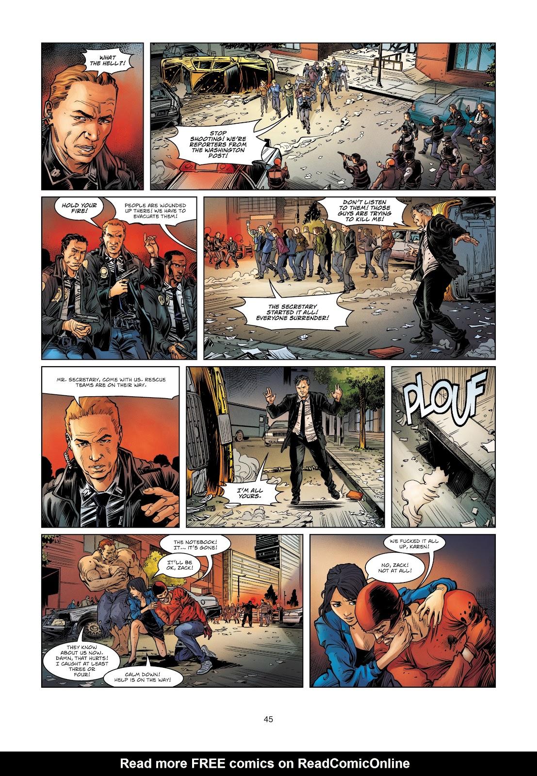 Read online Vigilantes comic -  Issue #4 - 45