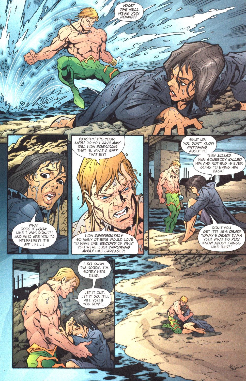 Read online Aquaman (2003) comic -  Issue #14 - 21