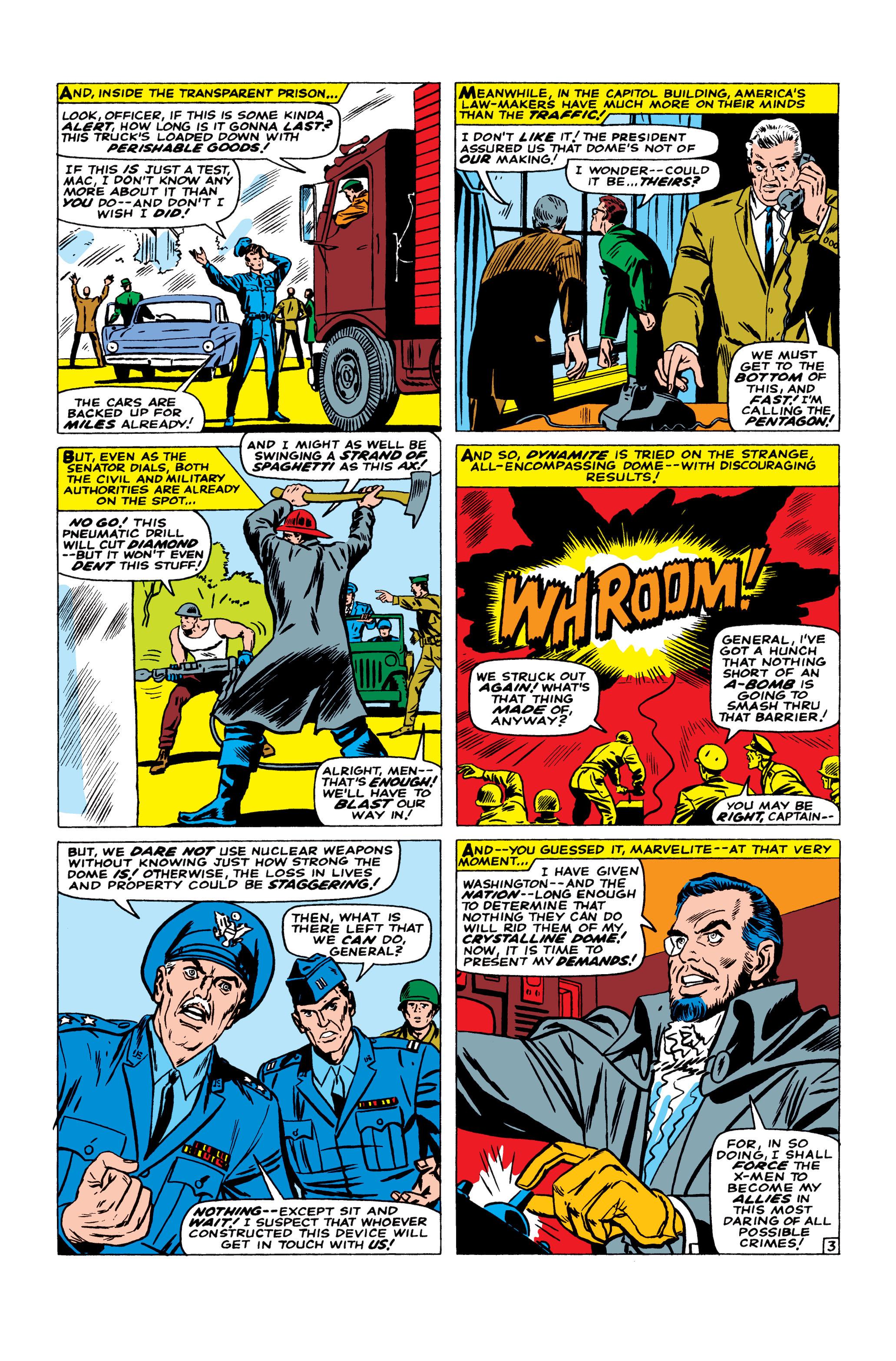Read online Uncanny X-Men (1963) comic -  Issue #23 - 4