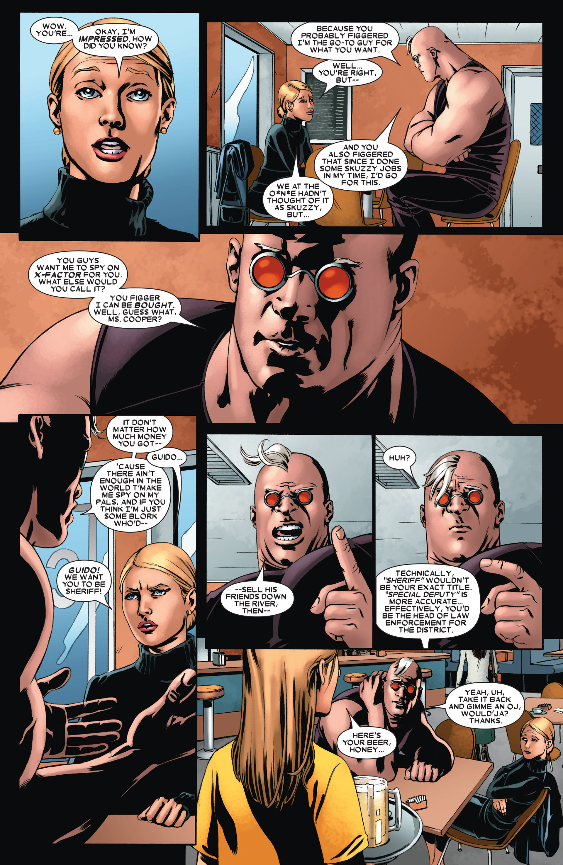 Read online X-Factor (2006) comic -  Issue #21 - 18