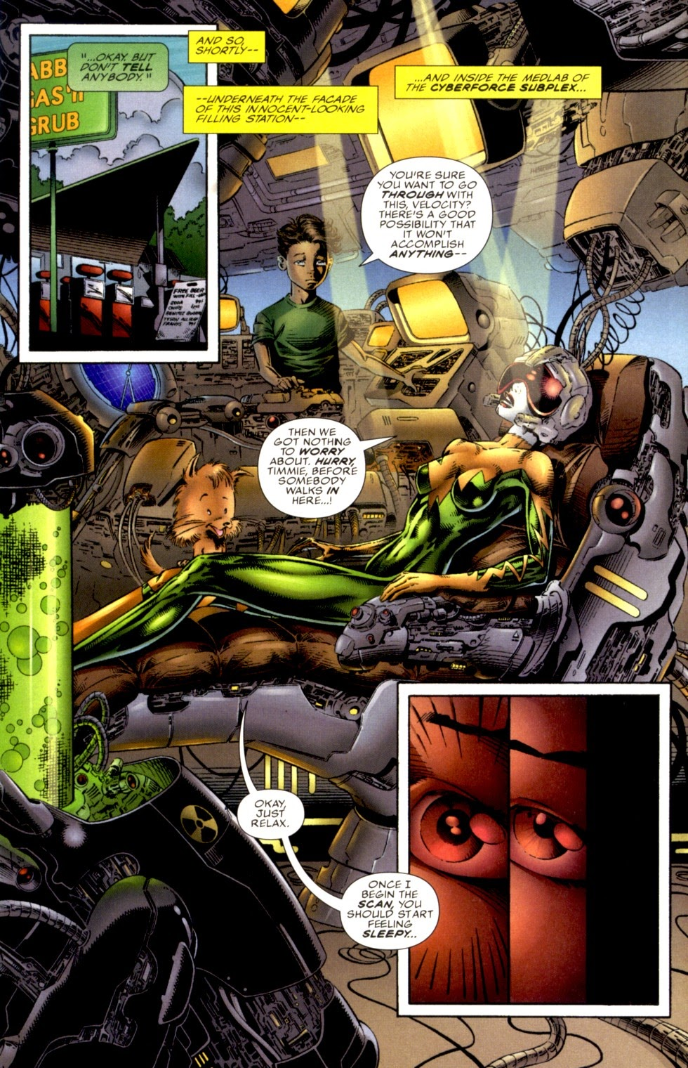 Read online Cyberforce (1993) comic -  Issue # Annual 1 - 8
