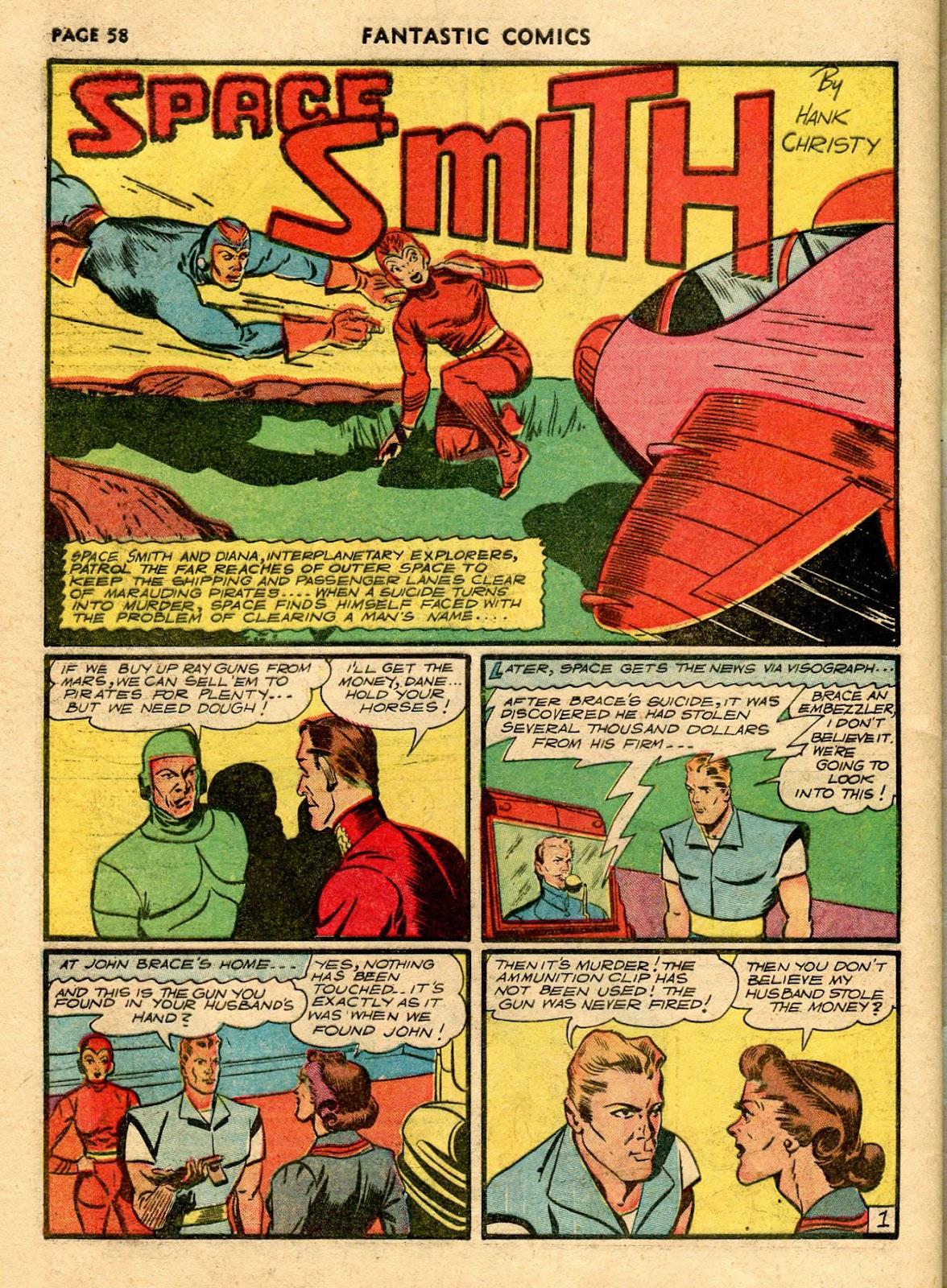 Read online Fantastic Comics comic -  Issue #21 - 56