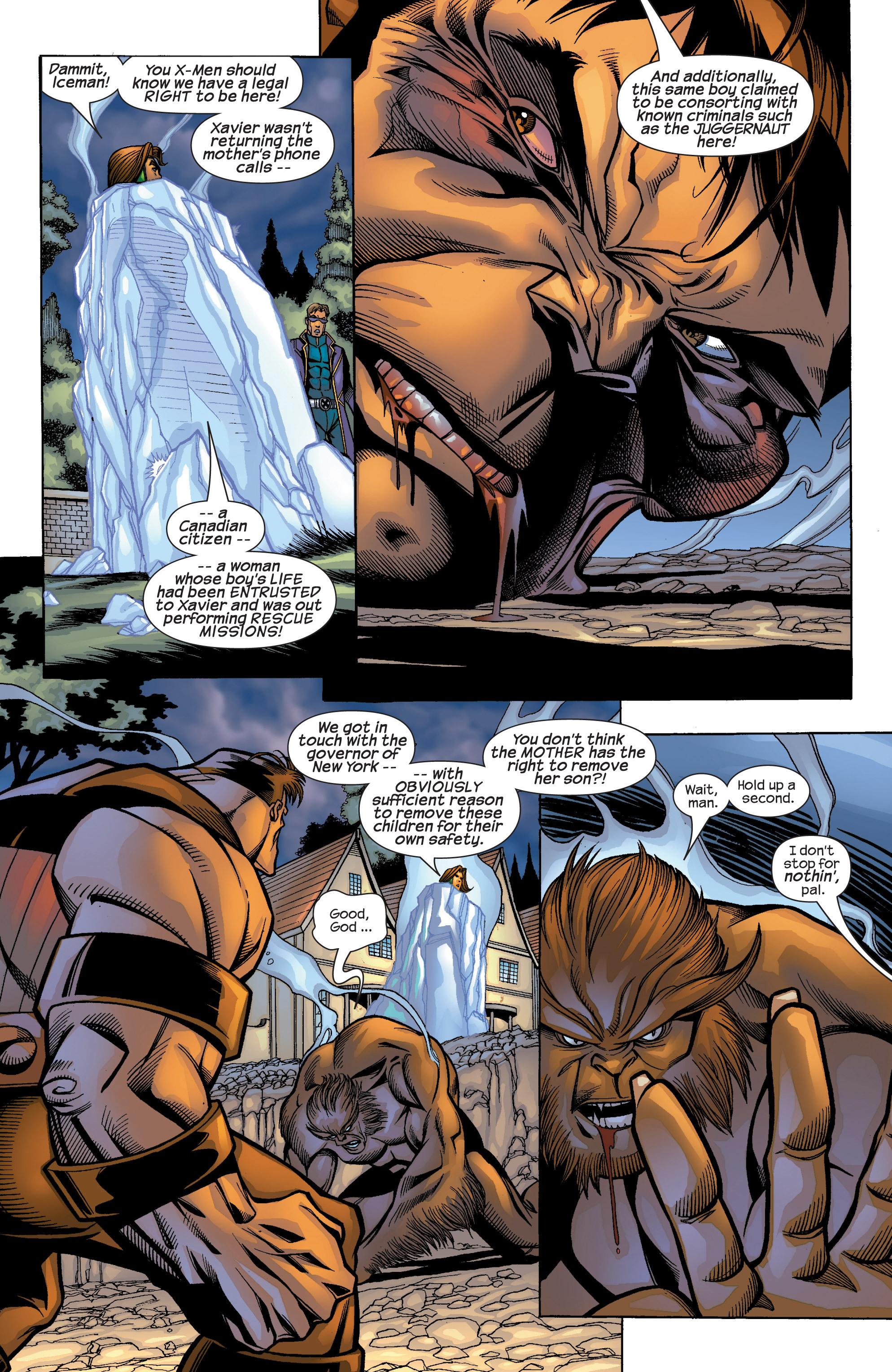 Read online Uncanny X-Men (1963) comic -  Issue #422 - 23