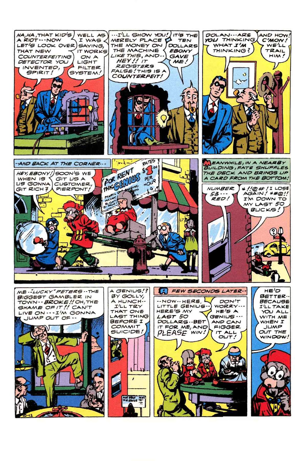 Read online Will Eisner's The Spirit Archives comic -  Issue # TPB 3 (Part 2) - 17