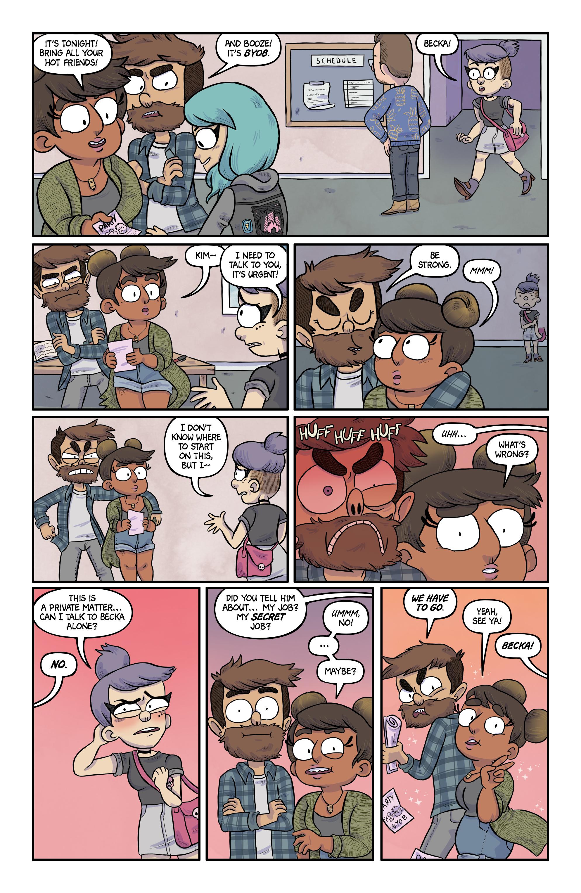 Read online Kim Reaper comic -  Issue #3 - 10
