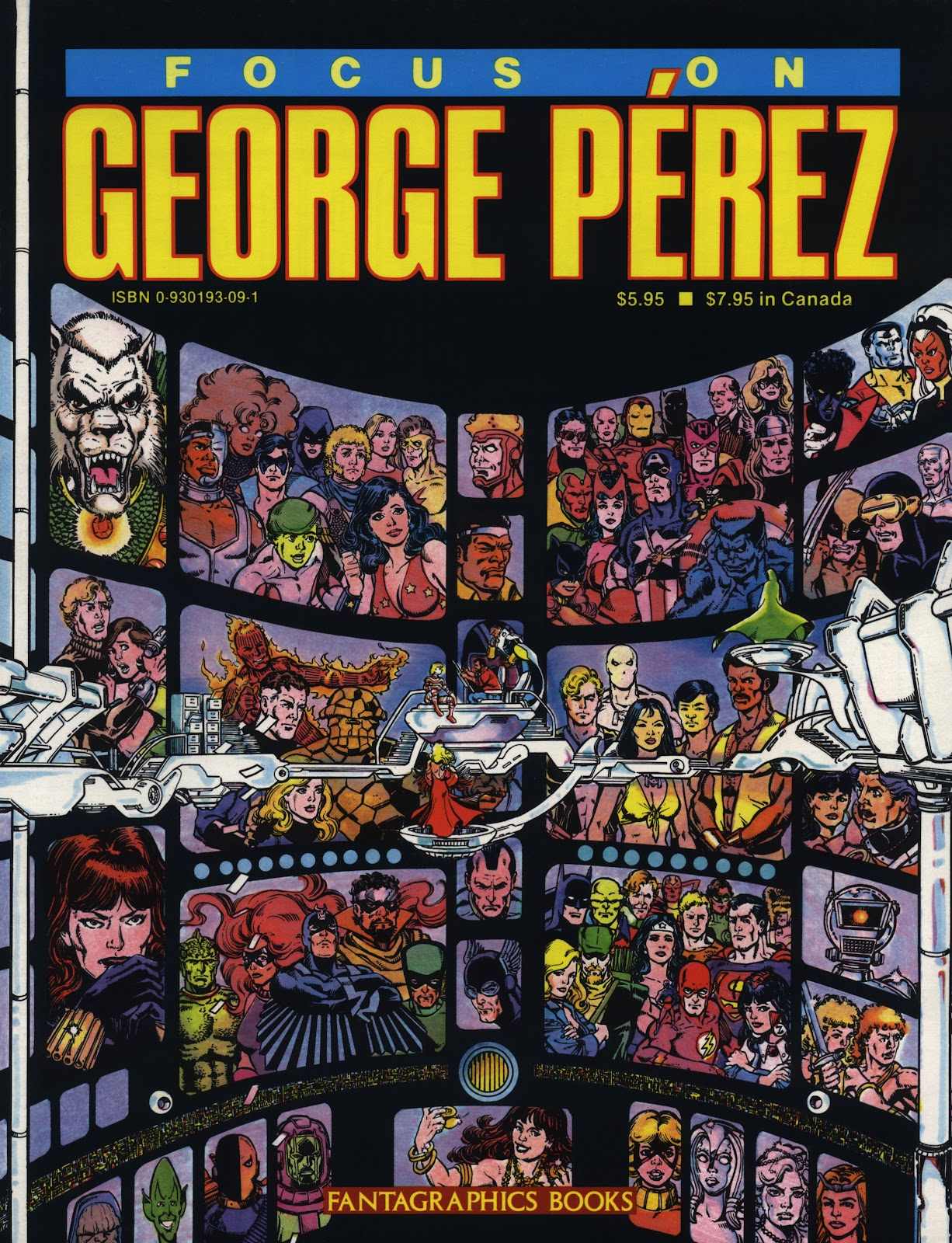Focus On George Perez Full Page 1