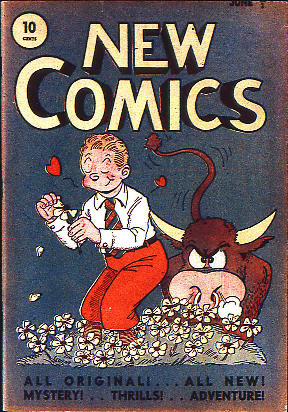 Read online Adventure Comics (1938) comic -  Issue #5 - 1