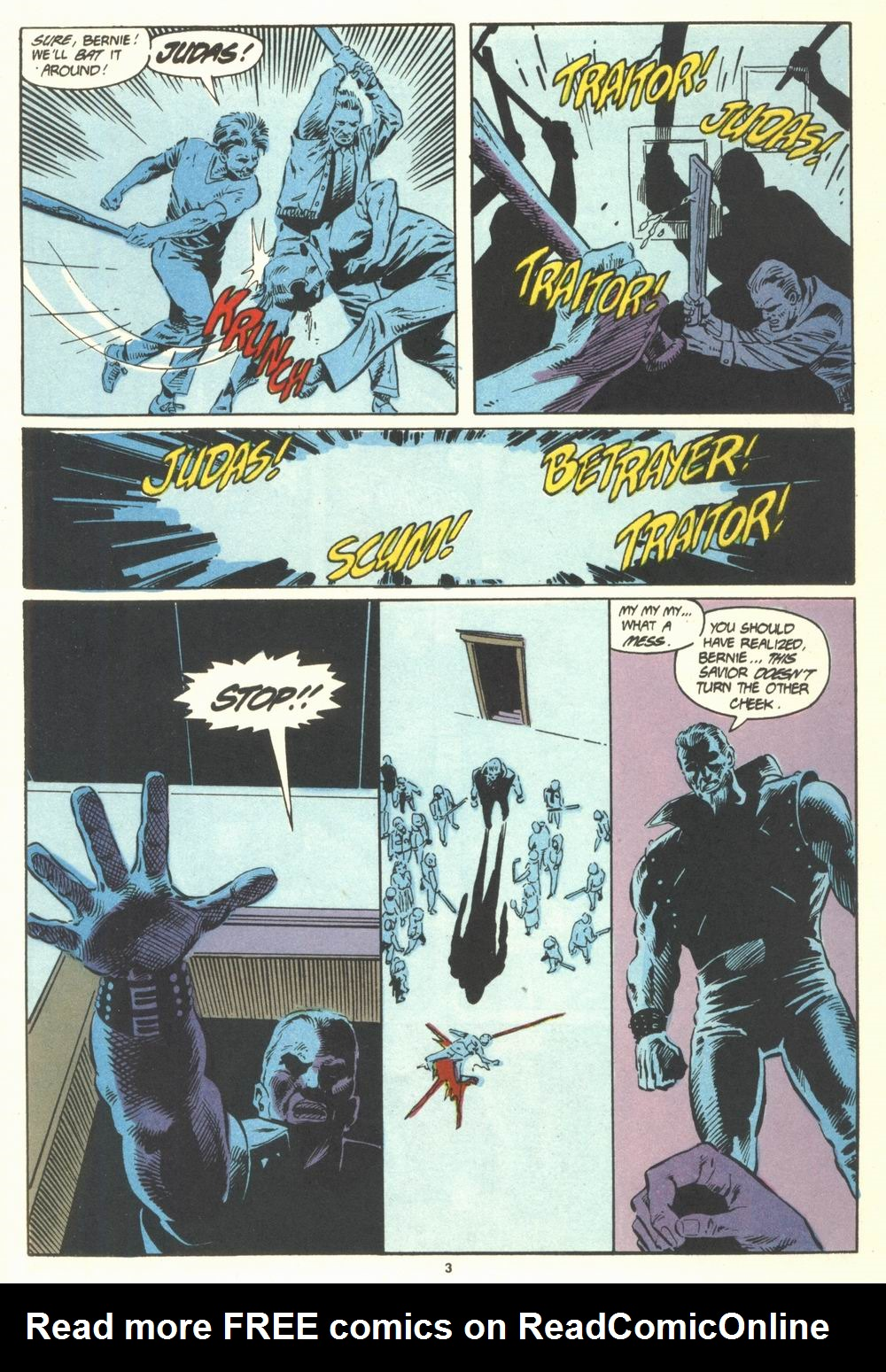 Read online Justice (1986) comic -  Issue #19 - 5