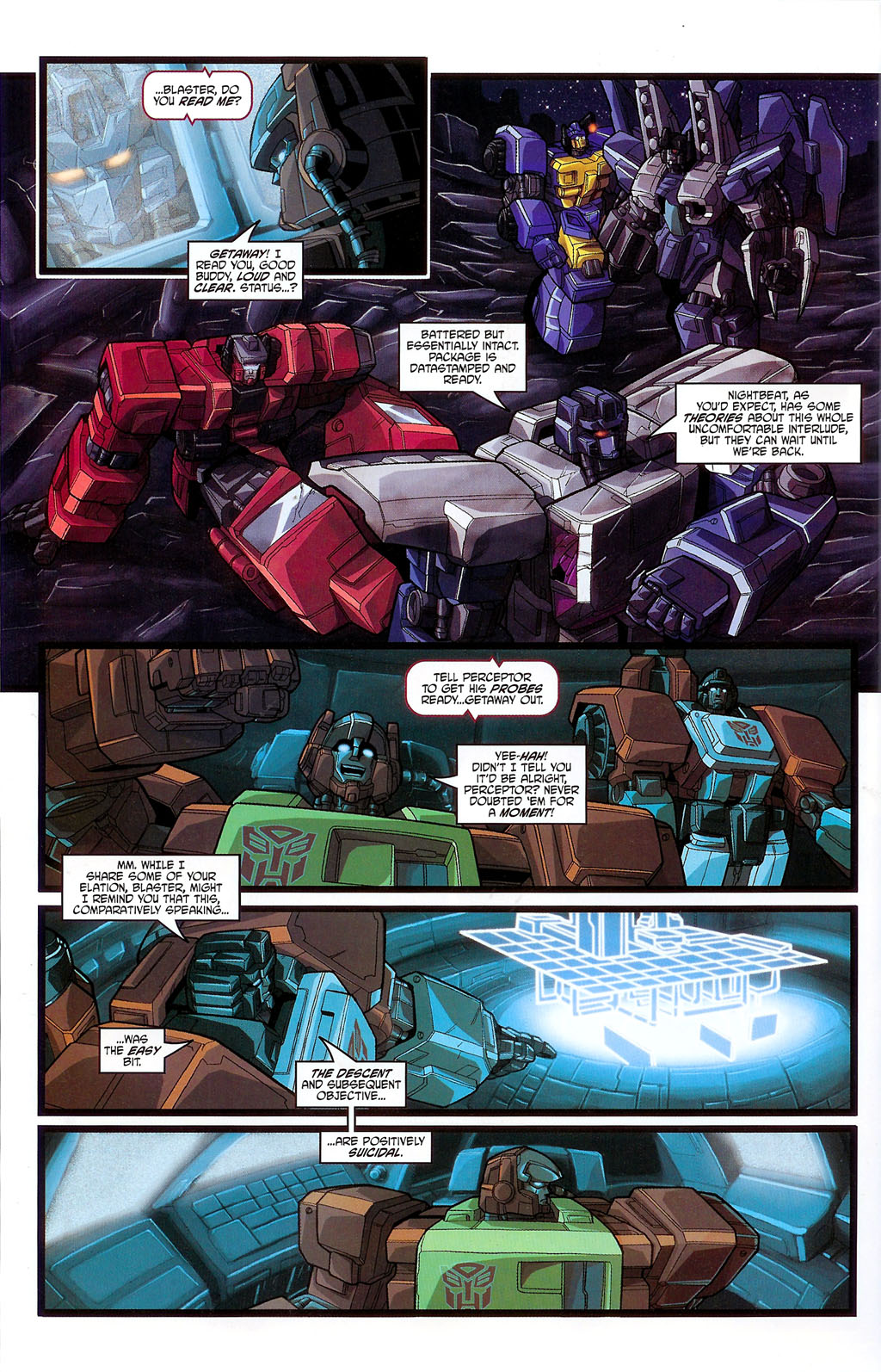 """Read online Transformers War Within: """"The Age of Wrath"""" comic -  Issue #3 - 20"""