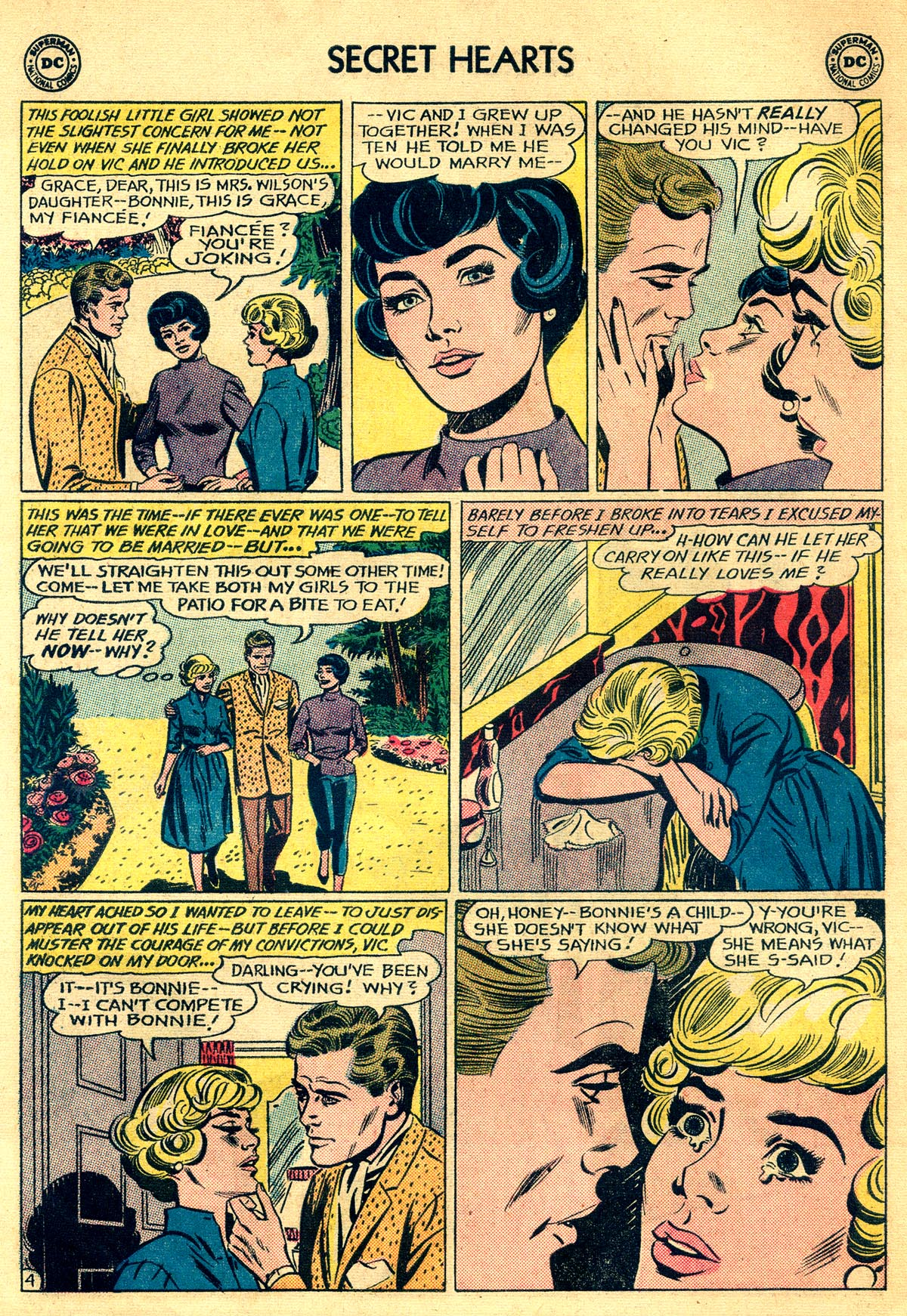 Read online Secret Hearts comic -  Issue #81 - 6