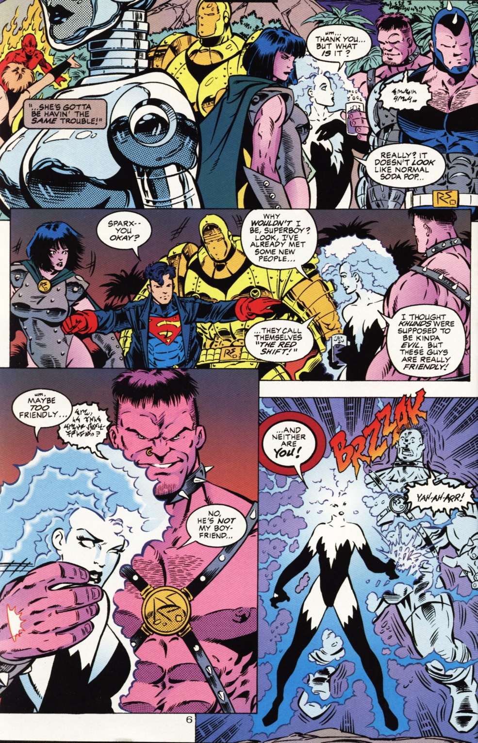 Read online Superboy & The Ravers comic -  Issue #1 - 7