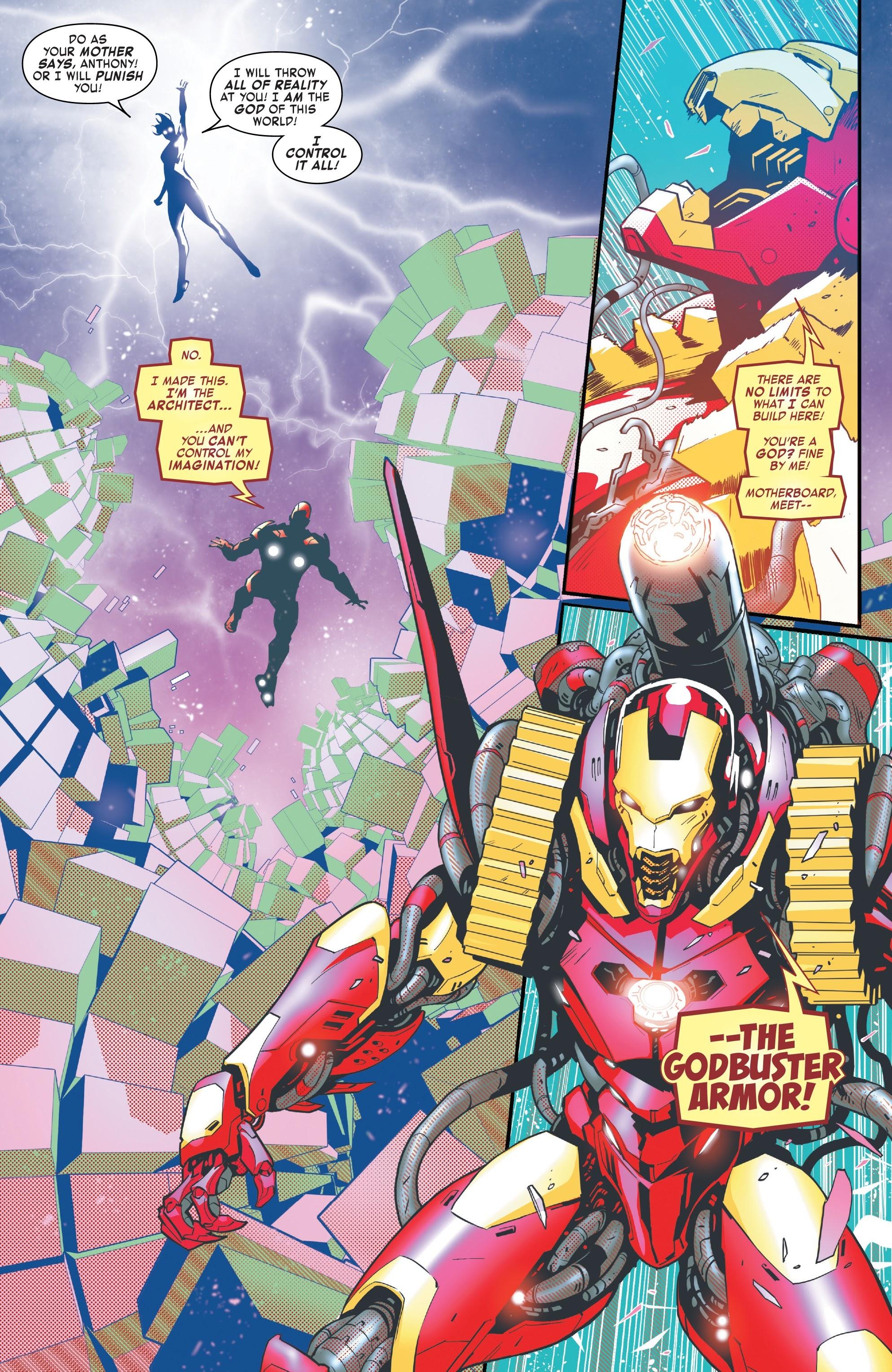 Read online Tony Stark: Iron Man comic -  Issue #10 - 18