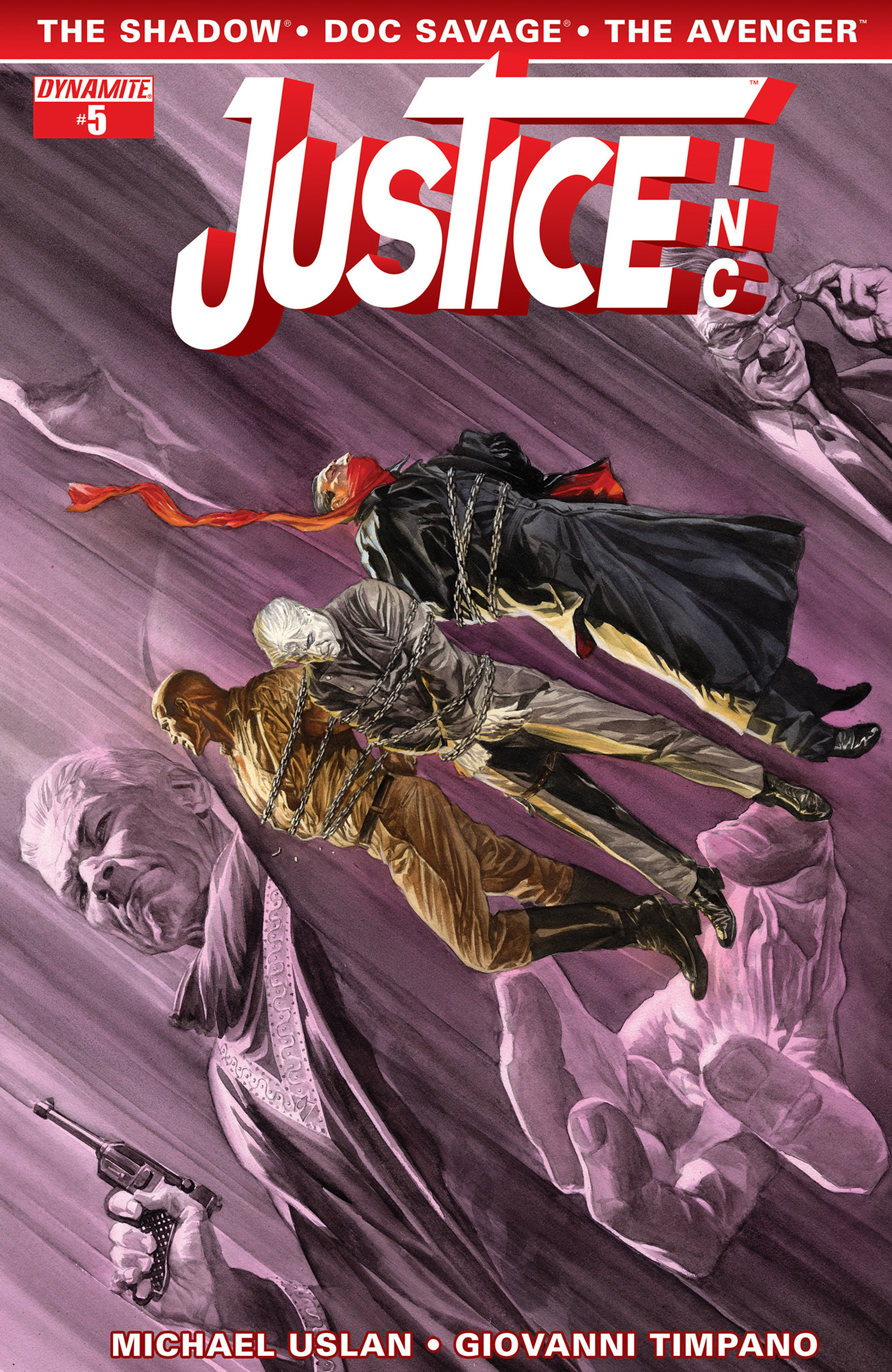 Read online Justice, Inc. comic -  Issue #5 - 1