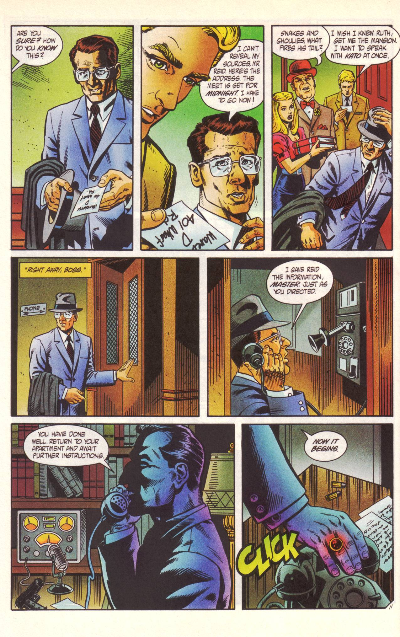 Read online Sting of The Green Hornet comic -  Issue #1 - 12