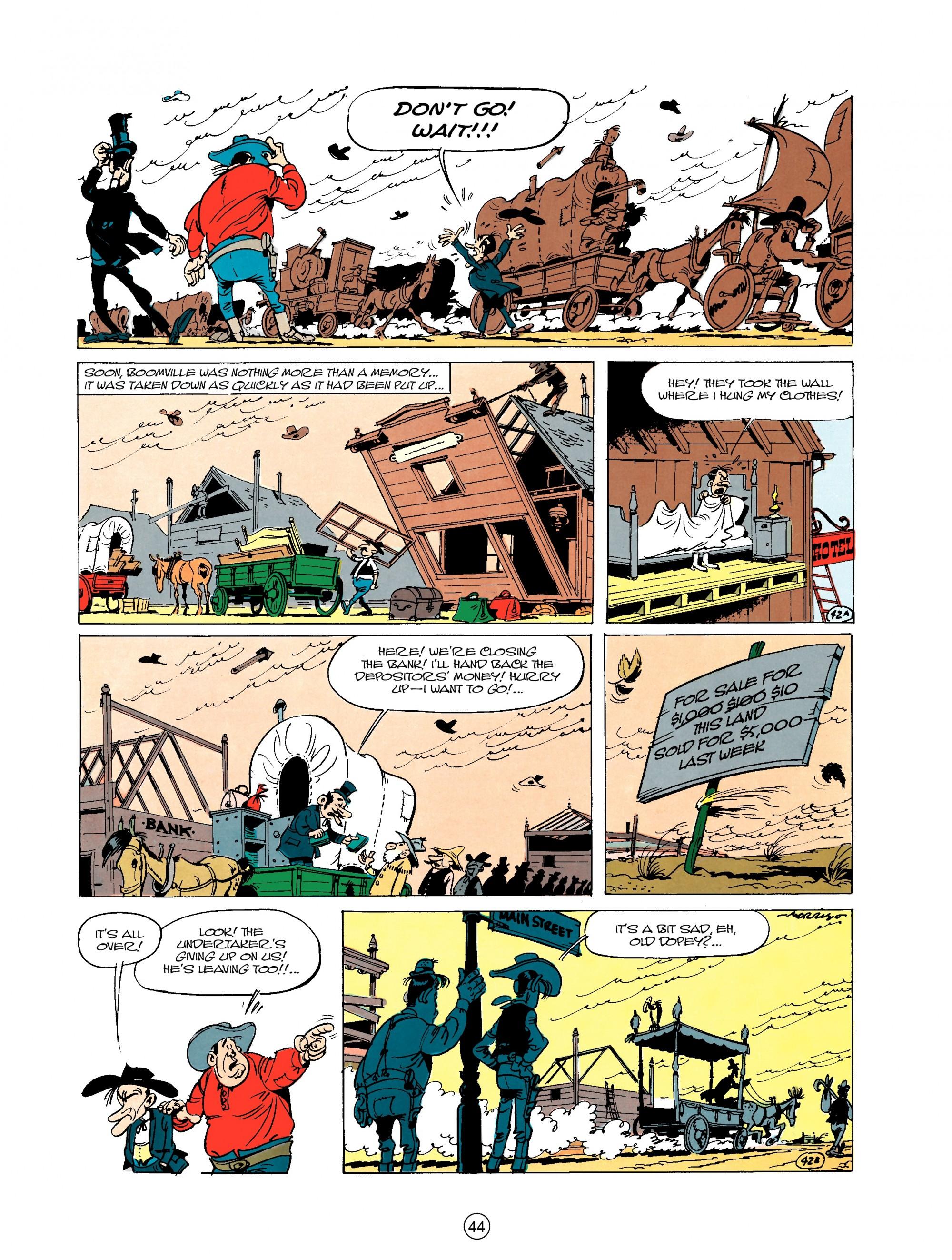 Read online A Lucky Luke Adventure comic -  Issue #20 - 44