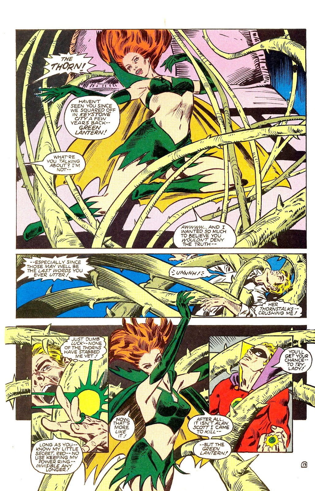 Infinity Inc. (1984) issue Annual 1 - Page 16