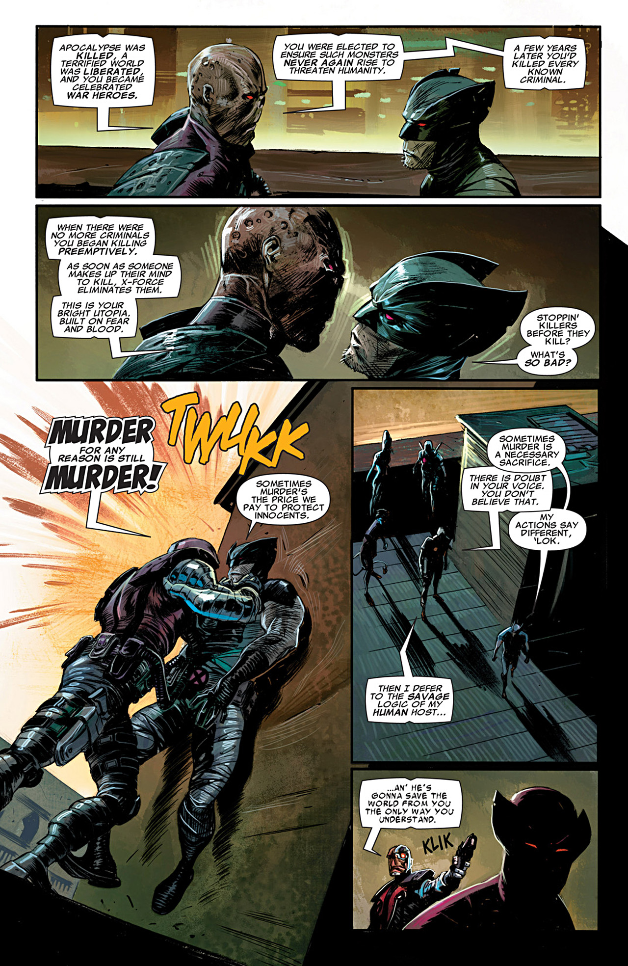 Uncanny X-Force (2010) #28 #30 - English 15