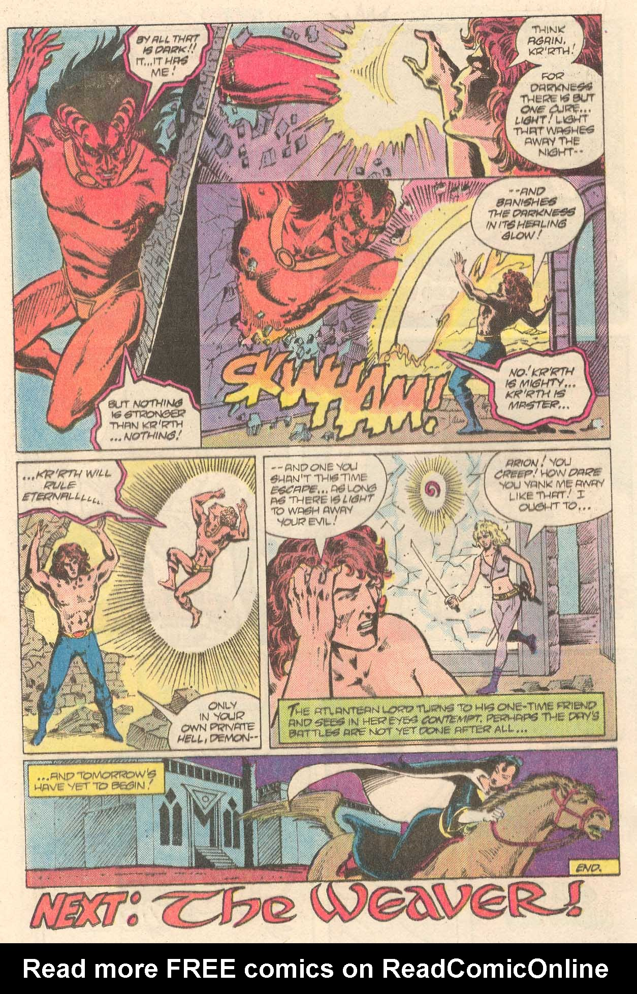 Read online Arion, Lord of Atlantis comic -  Issue #27 - 15