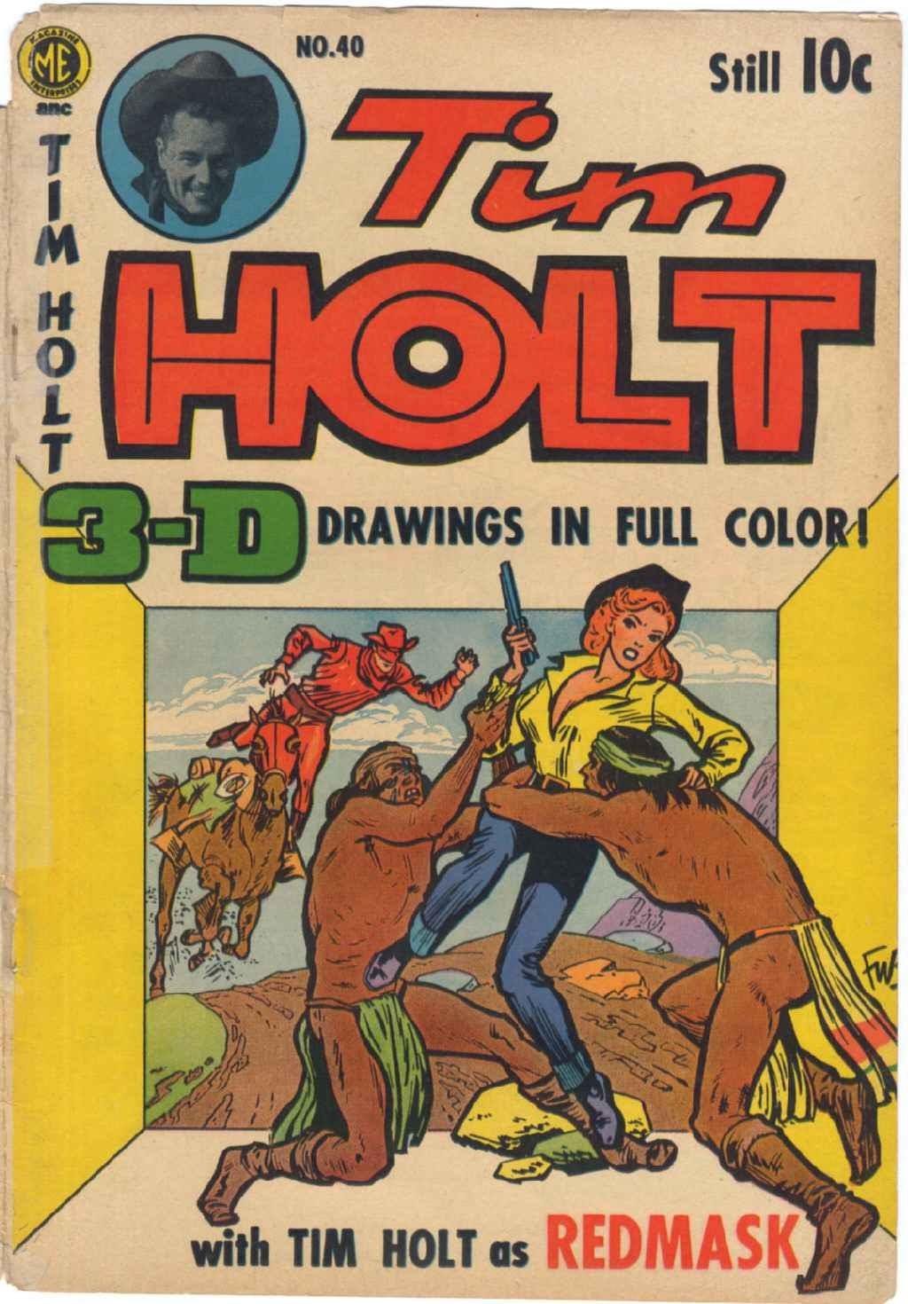 Tim Holt 40 Page 1