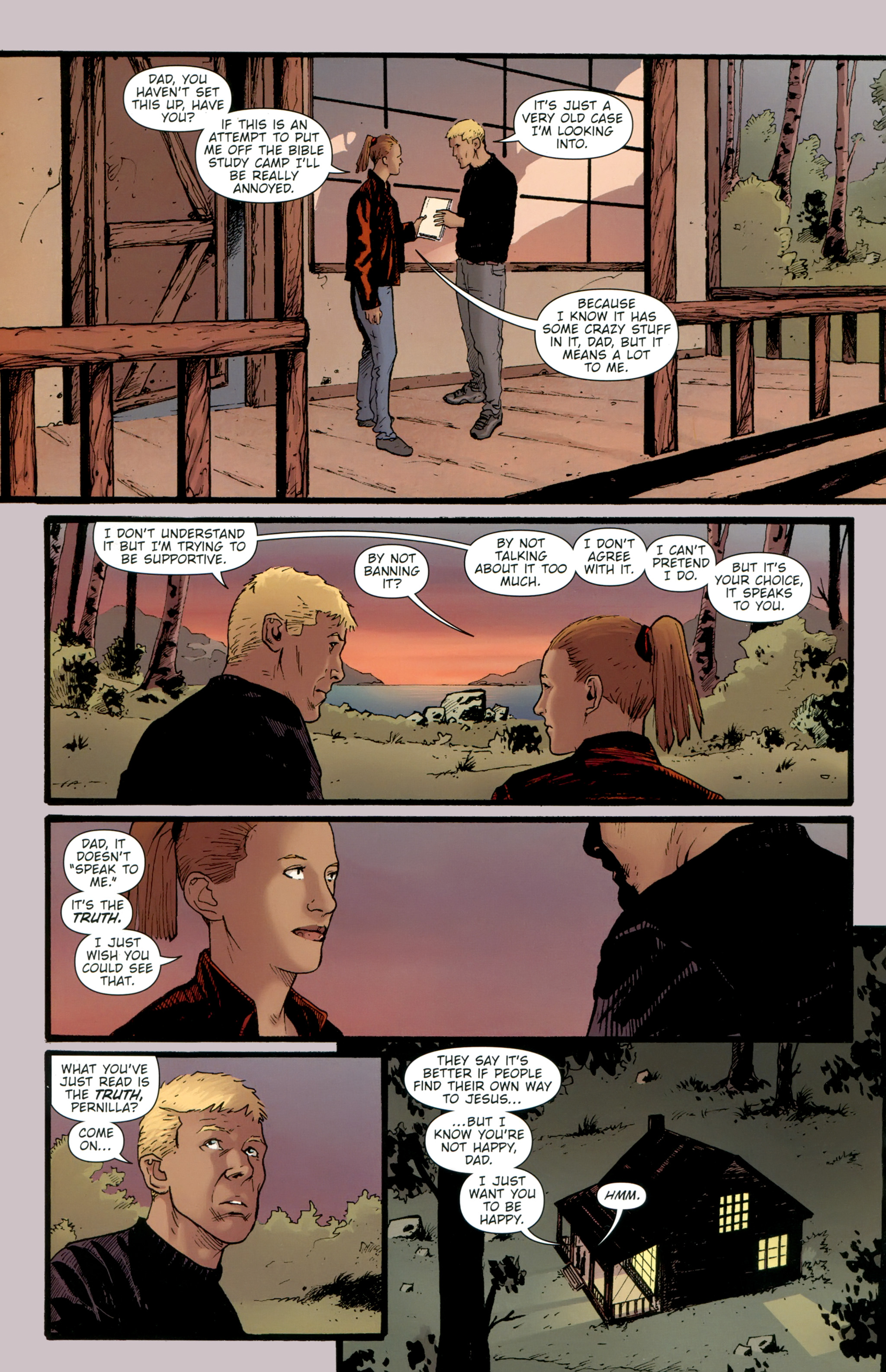 Read online The Girl With the Dragon Tattoo comic -  Issue # TPB 2 - 34