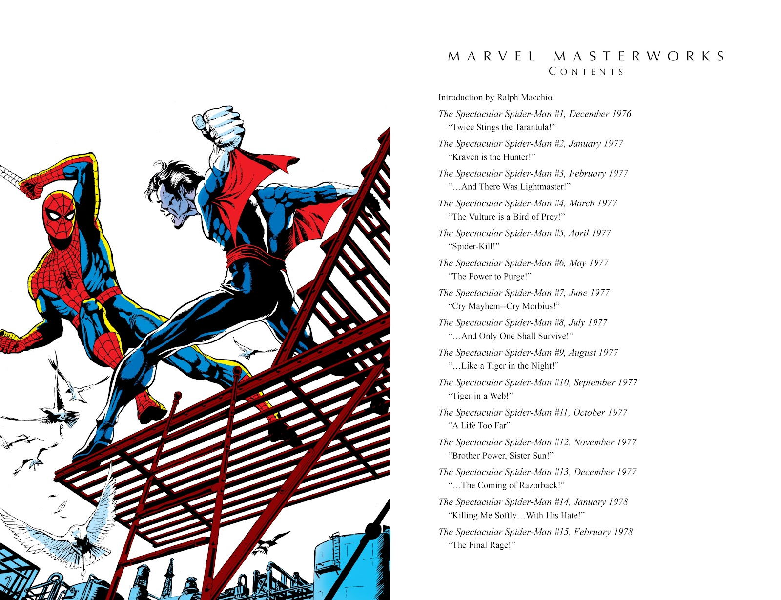 Read online Marvel Masterworks: The Spectacular Spider-Man comic -  Issue # TPB (Part 1) - 4