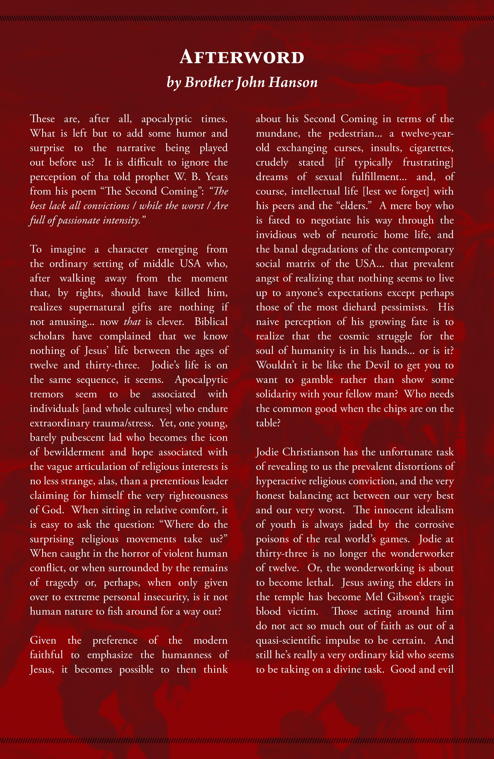 Read online American Jesus comic -  Issue # TPB - 87