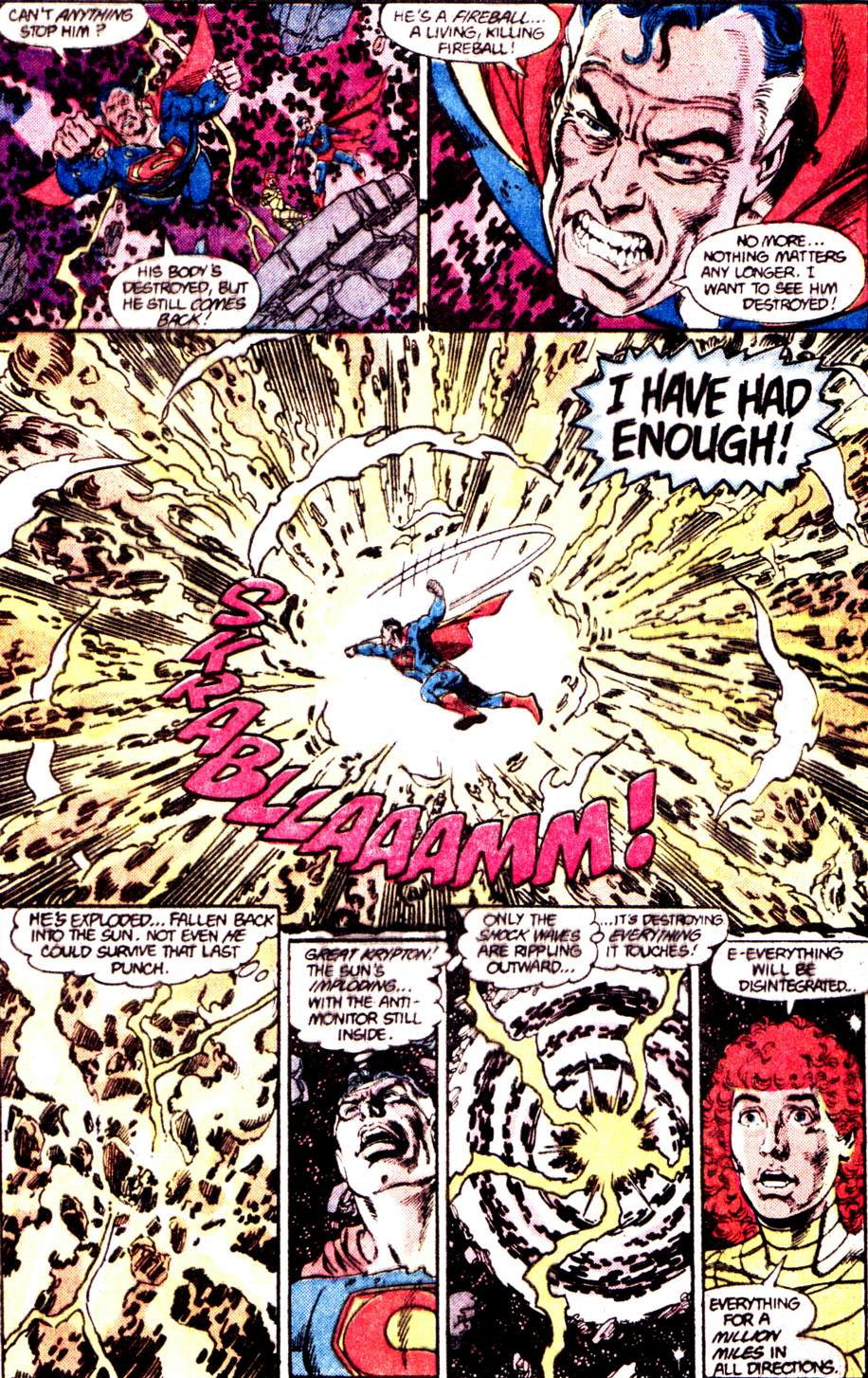 Crisis on Infinite Earths (1985) 12 Page 36