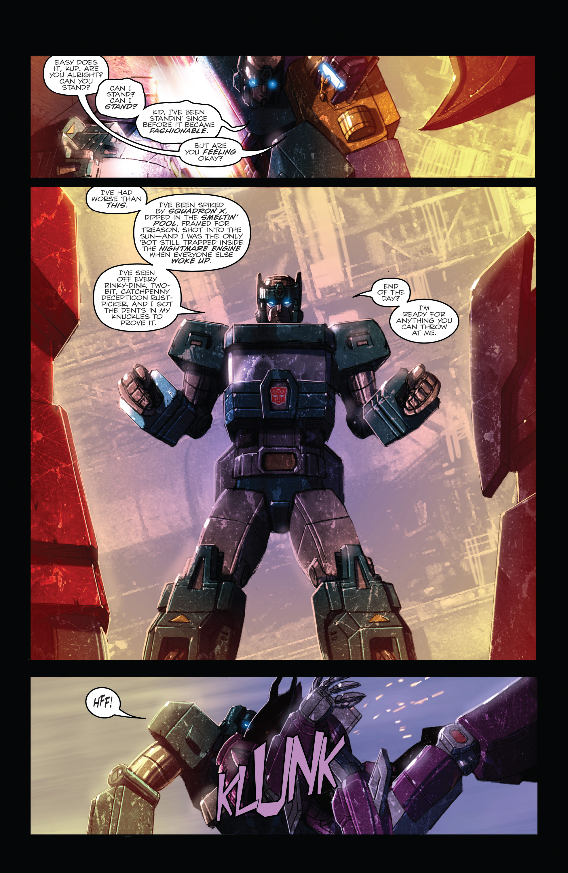 Read online The Transformers: Dark Cybertron Finale comic -  Issue # Full - 41