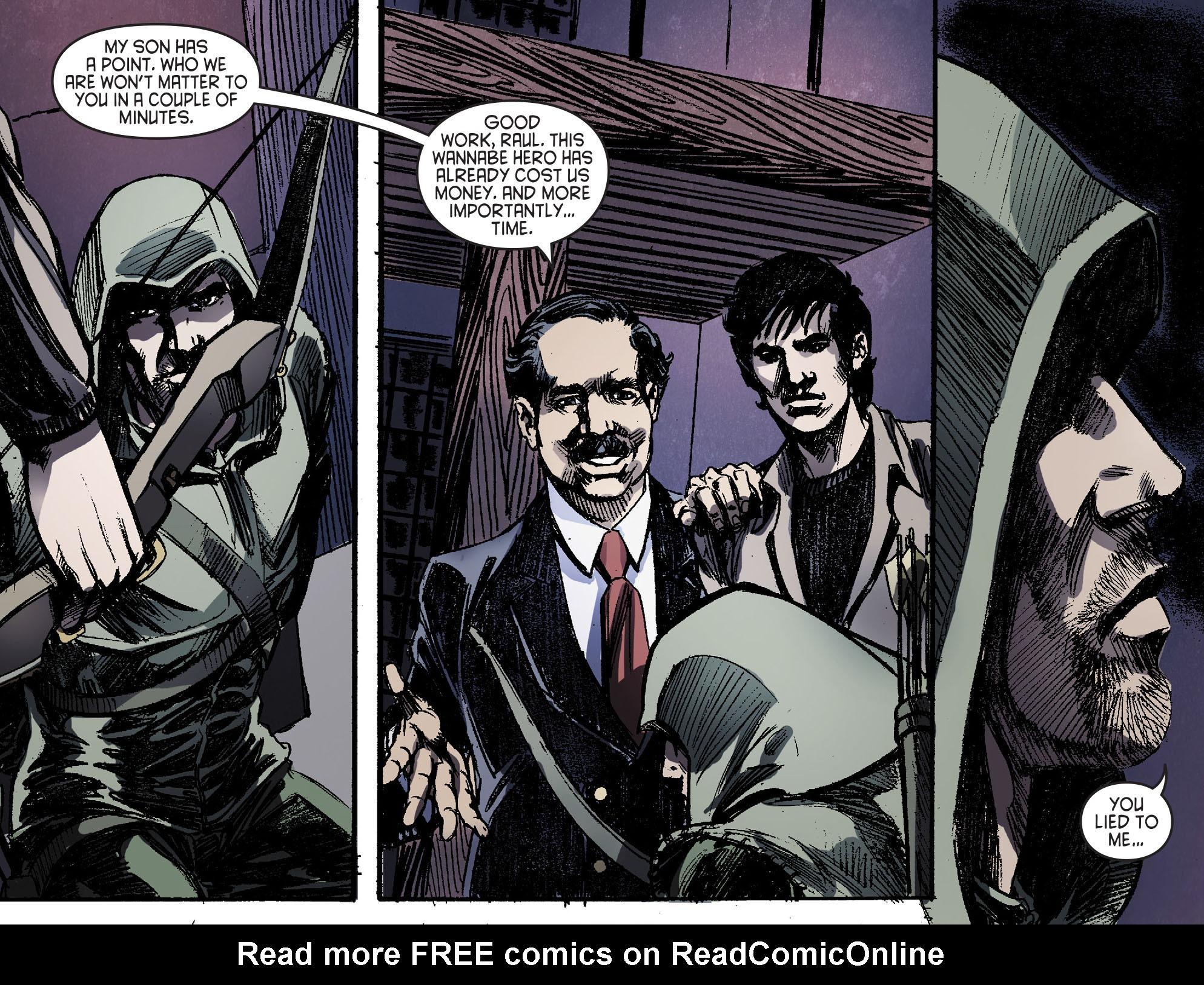 Read online Arrow [II] comic -  Issue #16 - 17